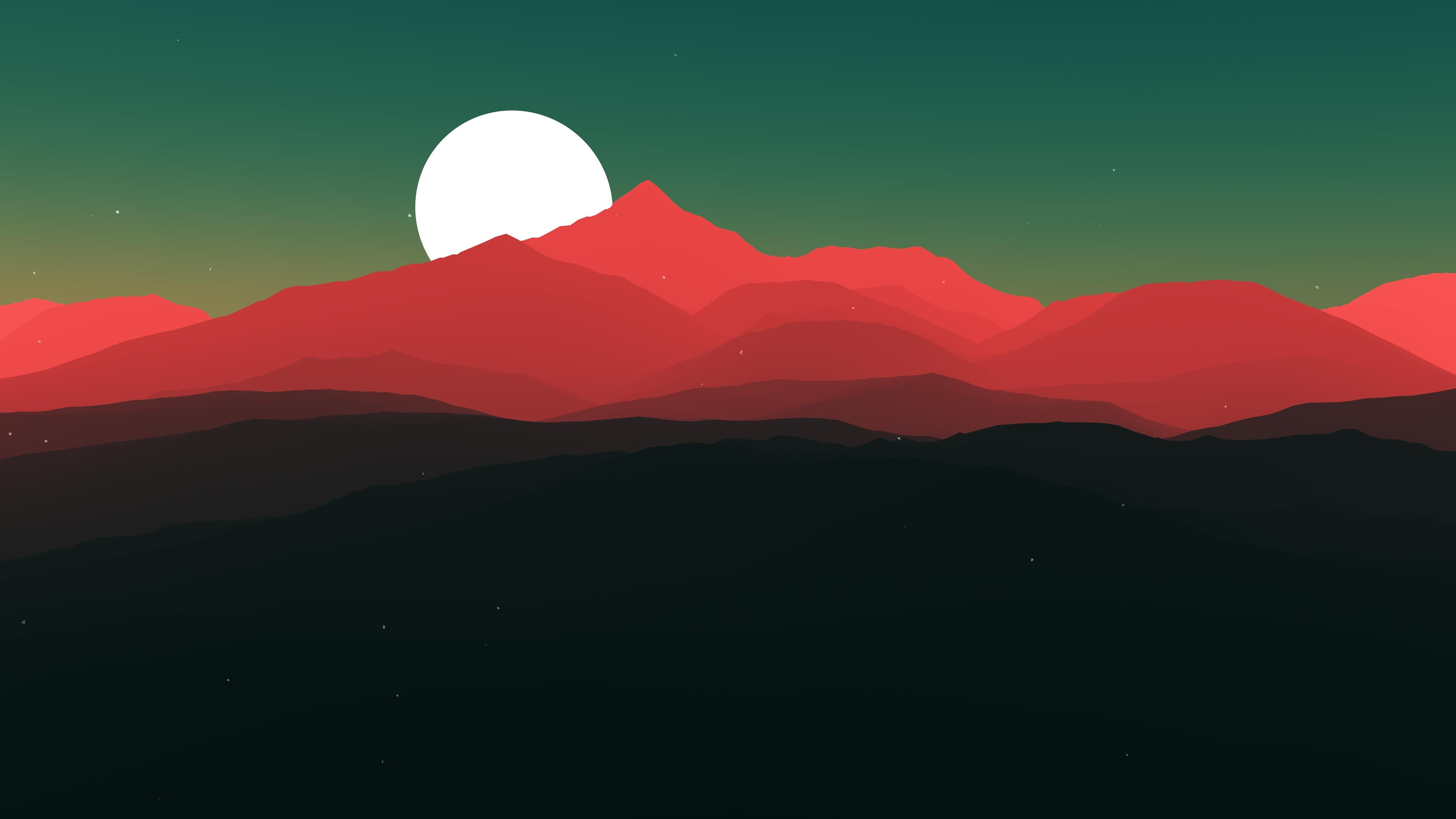 Minimalist Sunrise wallpaper