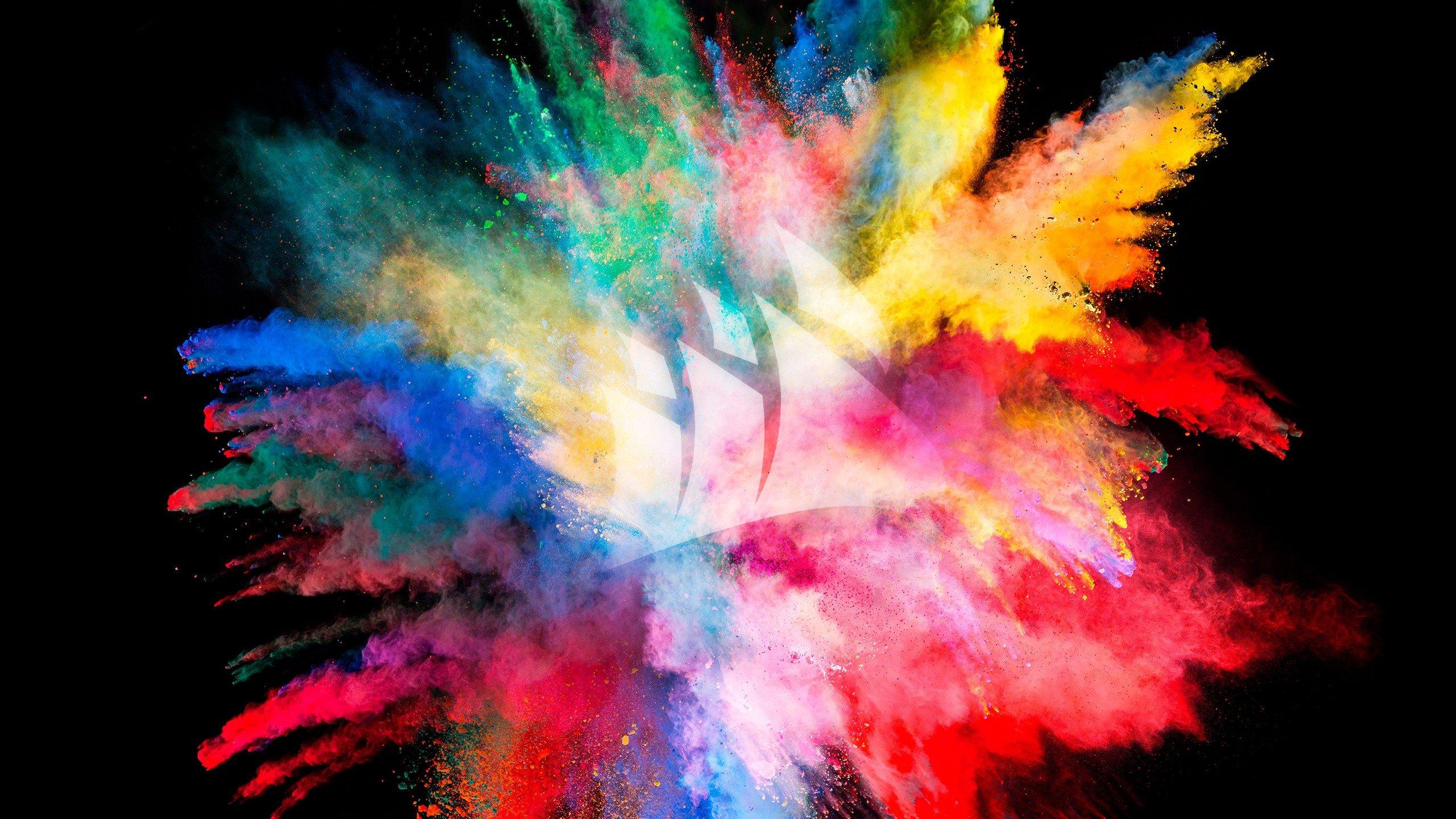 Color Burst WQHD Wallpaper