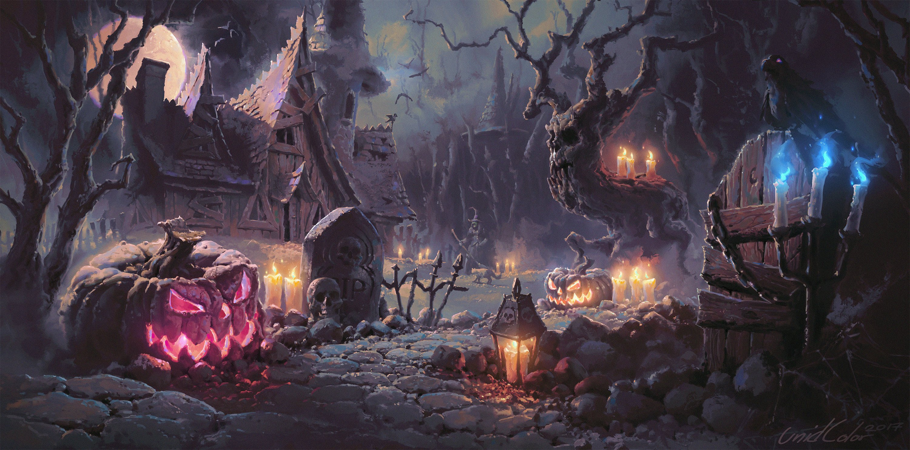 Halloween 4k Wallpapers For Your Desktop Or Mobile Screen Free And Easy To Download