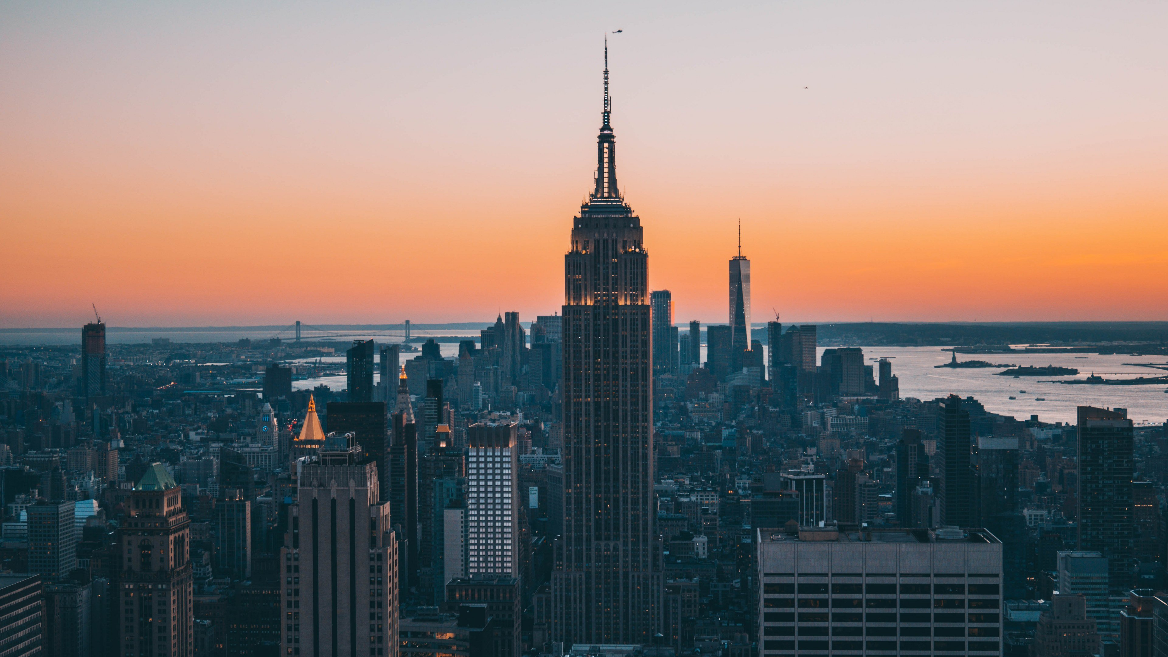 Empire State Building New York City 4k Wallpaper