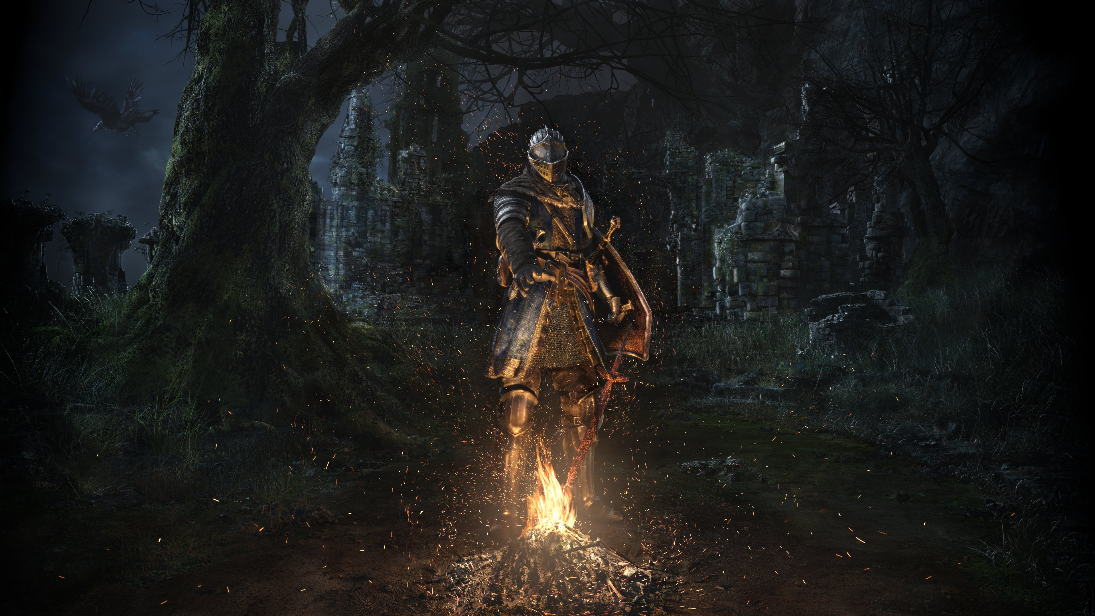dark souls wallpaper breaking - photo #8