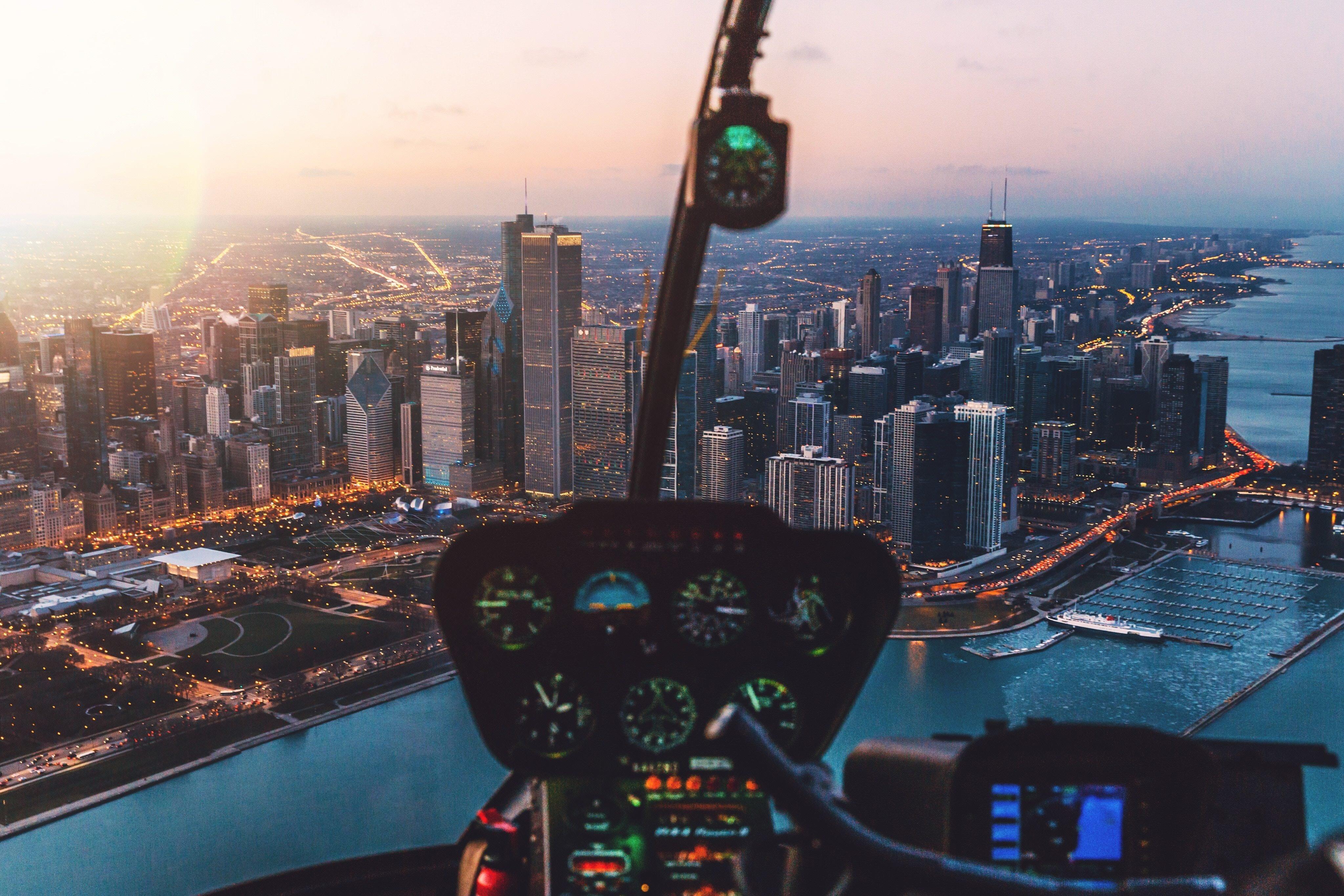 City view from cockpit 4k wallpaper - 4k cockpit wallpaper ...
