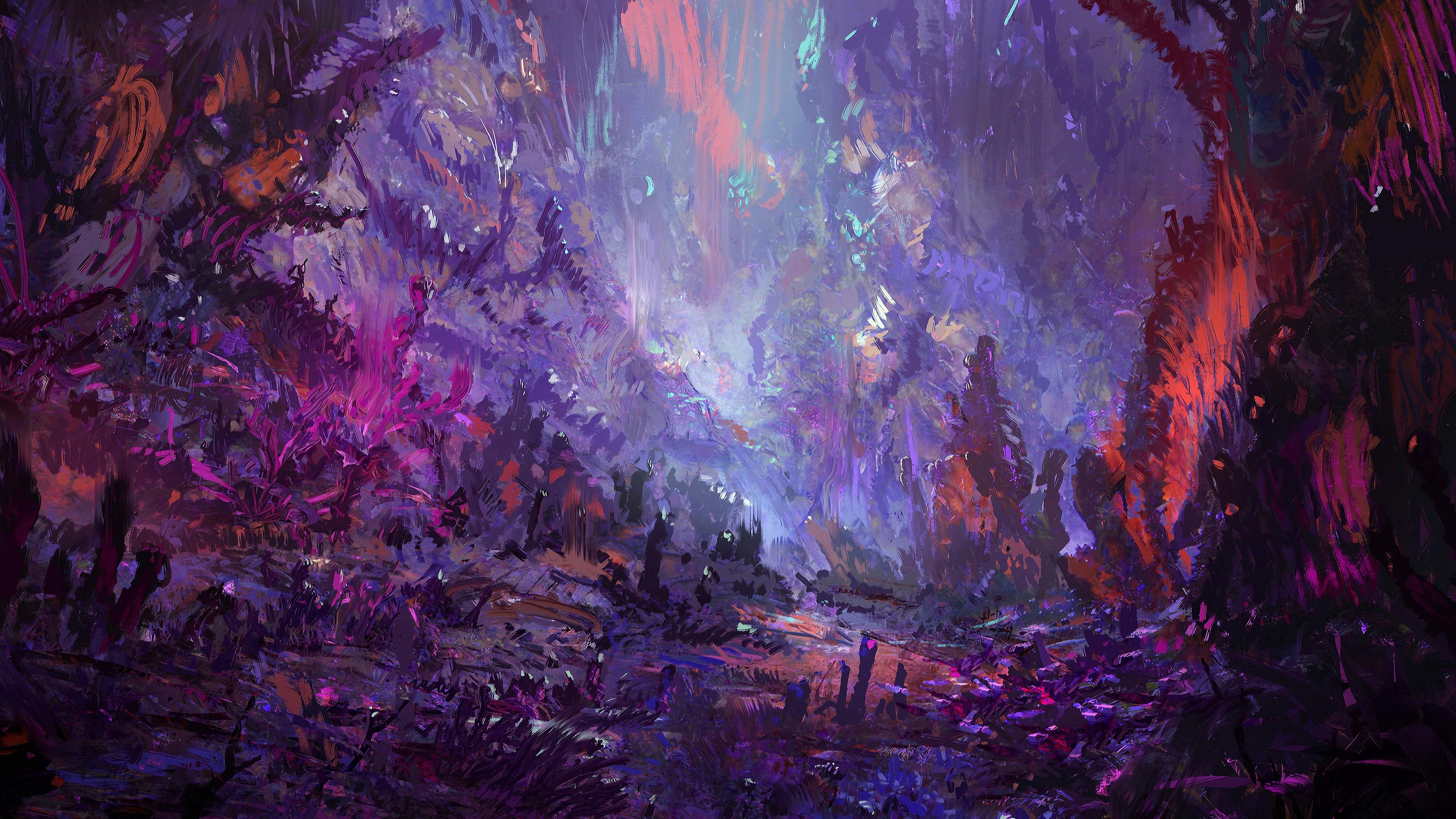 Exotic Subterra 4K Wallpaper