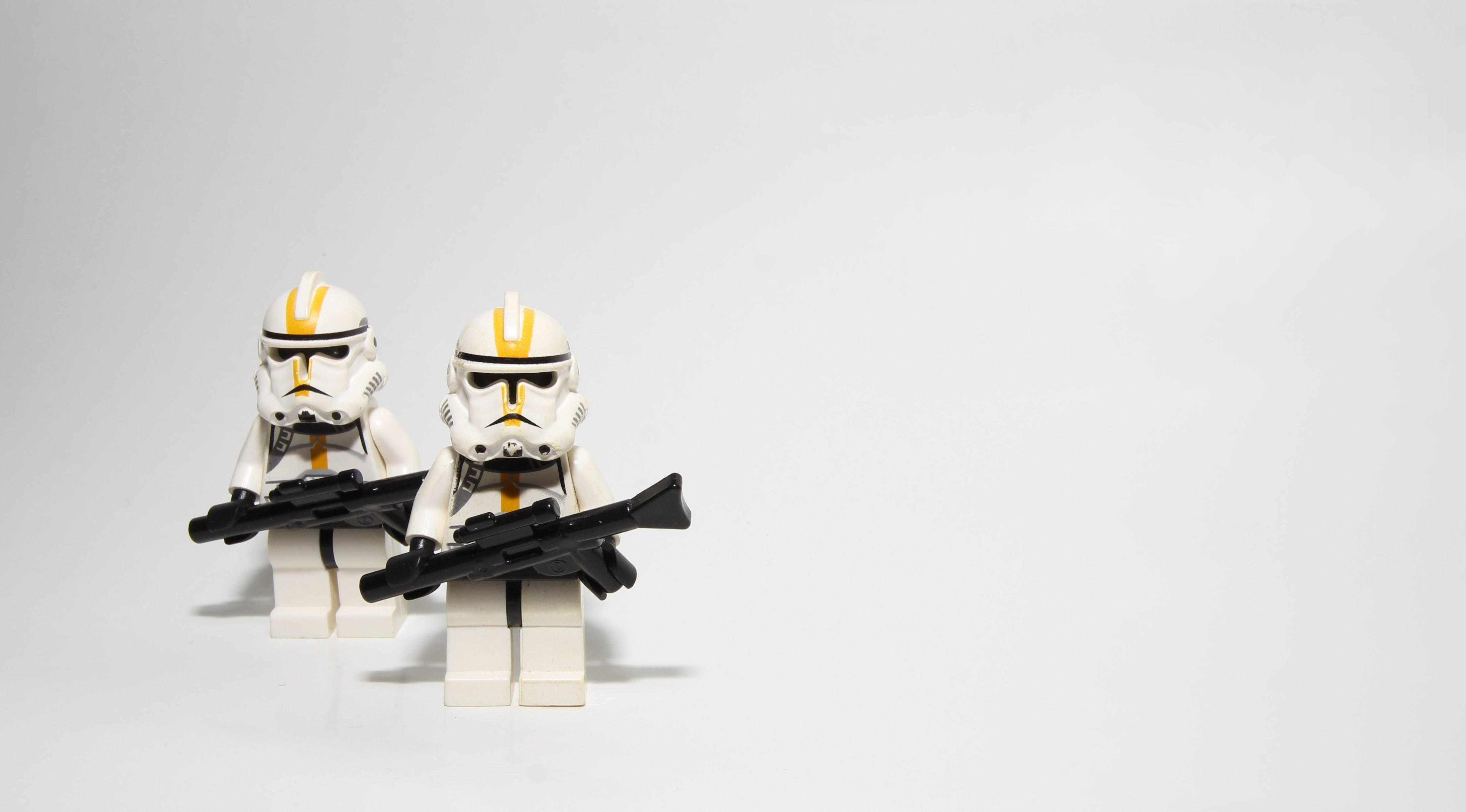 Lego Star Wars Clone Troopers 4k Wallpaper