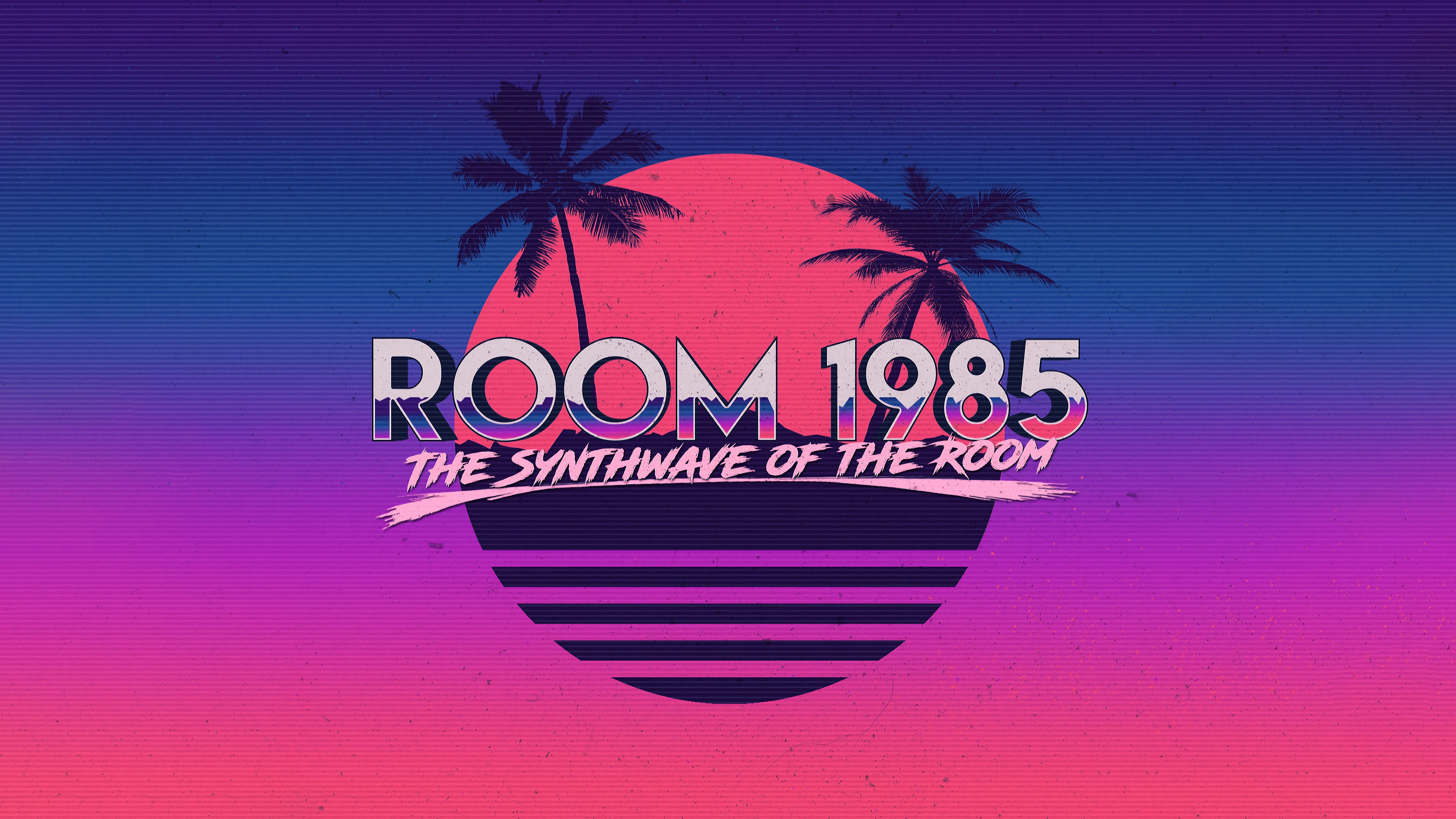 The Synthwave Of The Room 4k Wallpaper