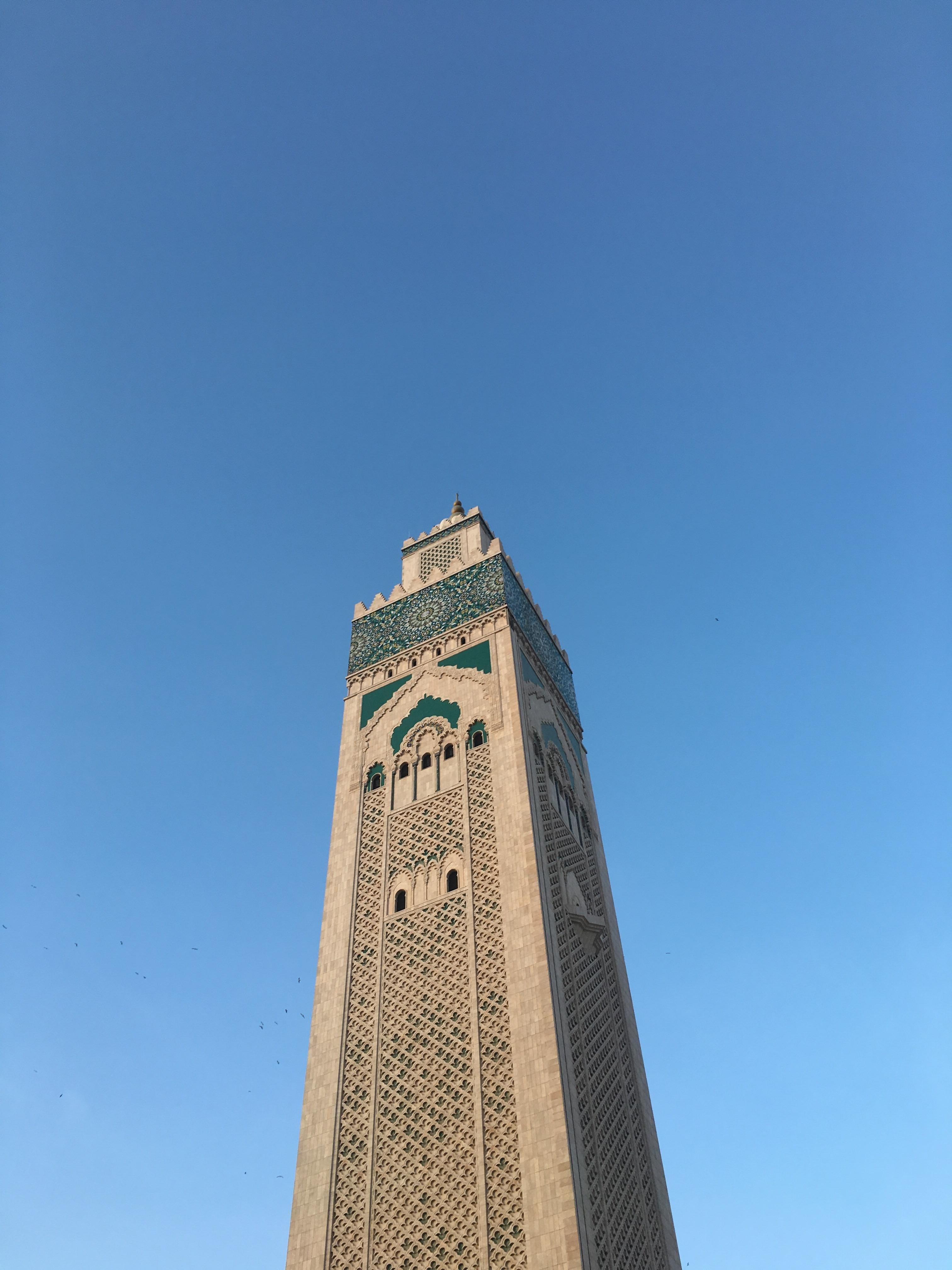 masjid al hassan in morocco wallpaper