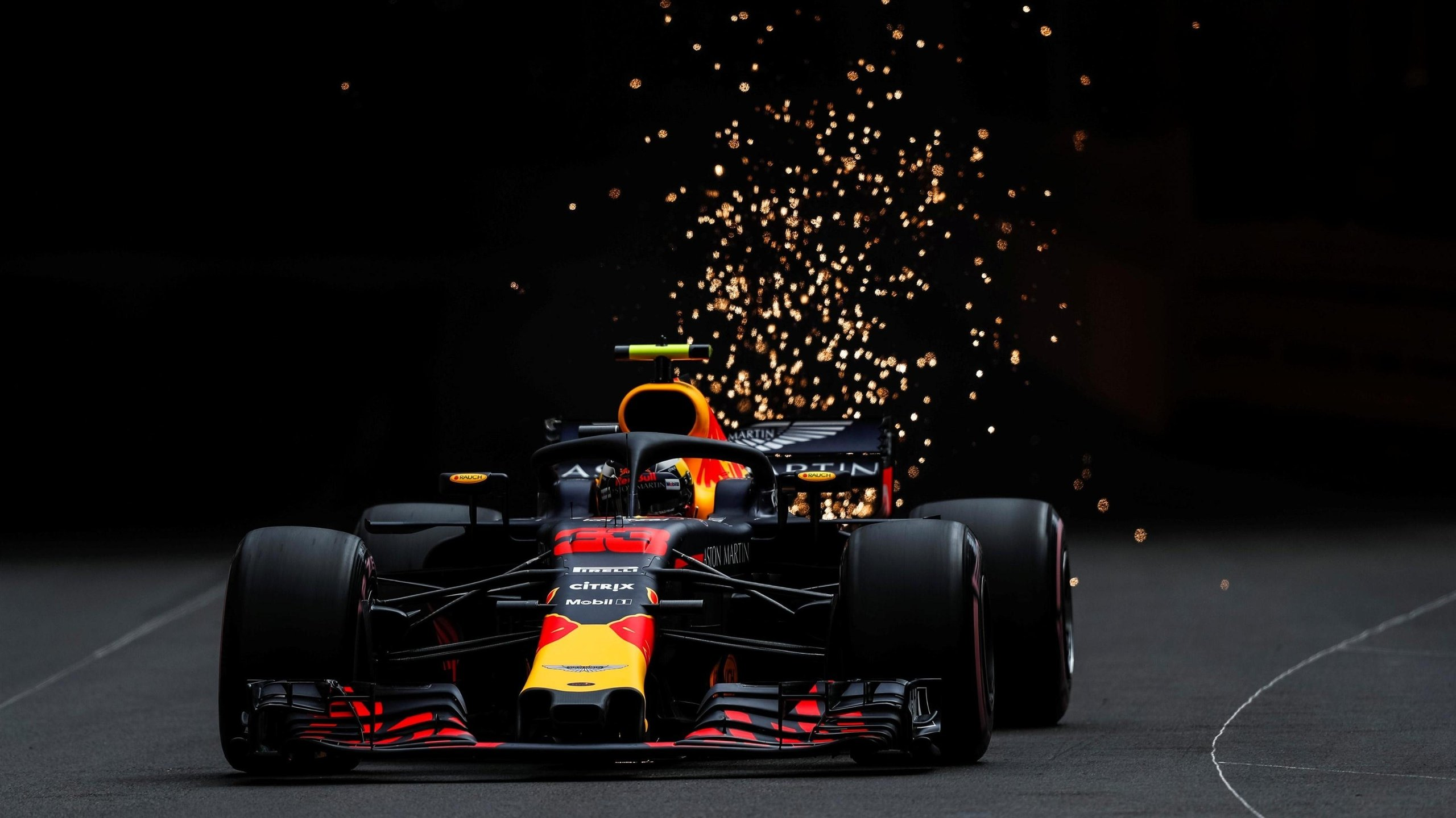 Red bull f1 4k wallpaper