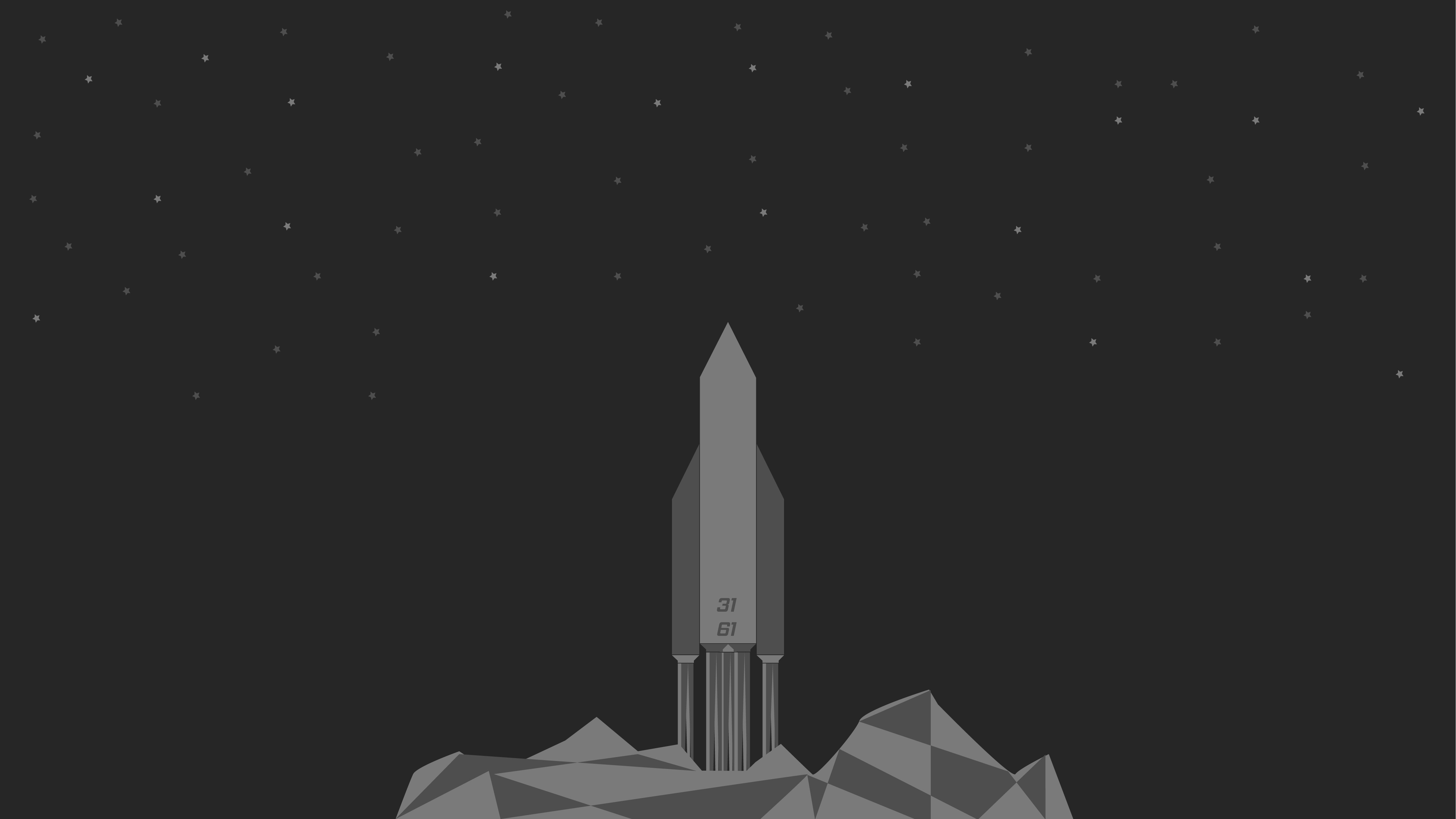 Rocket Launch 4K Wallpaper