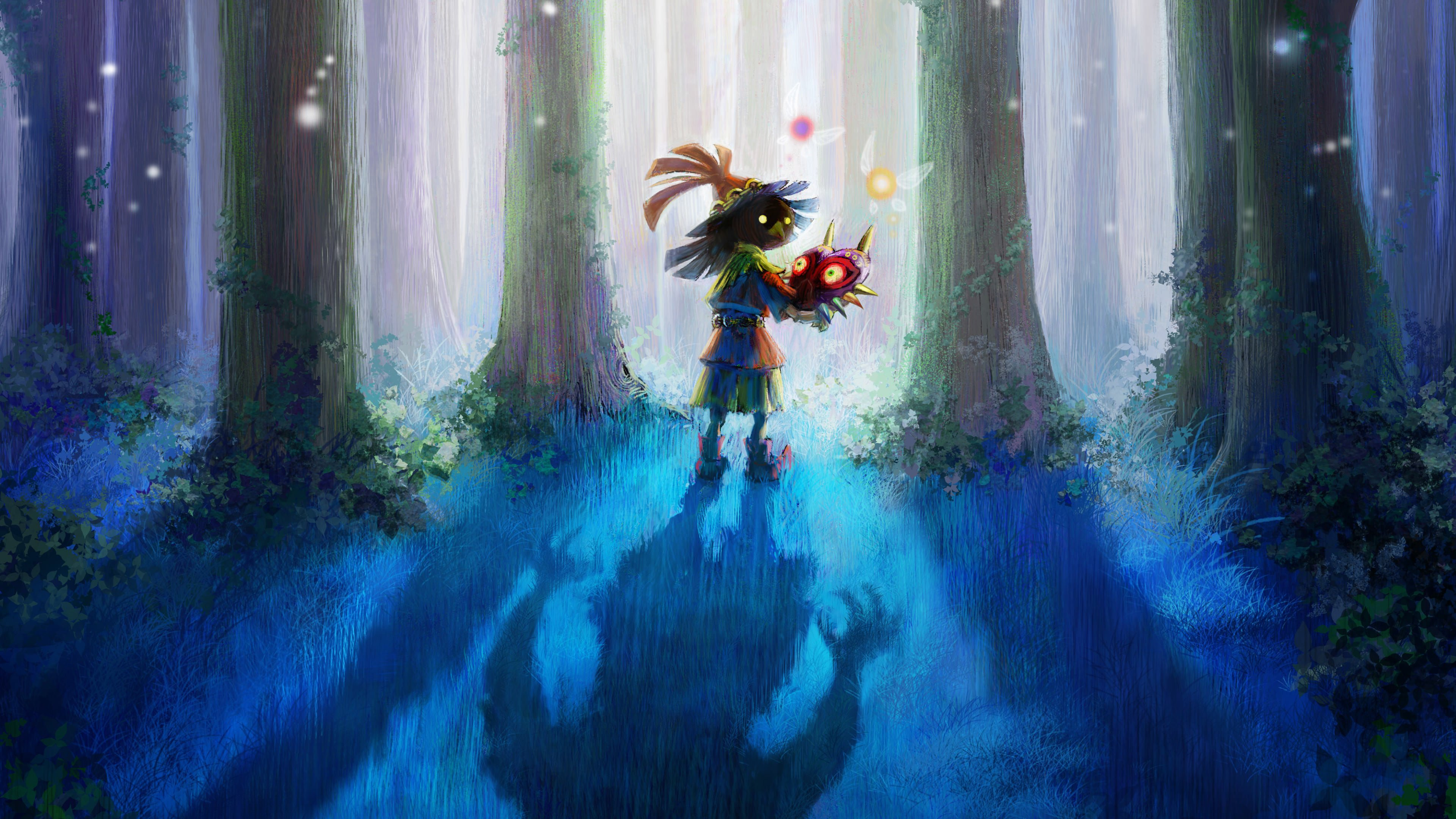 Skull Kid 4K Wallpaper