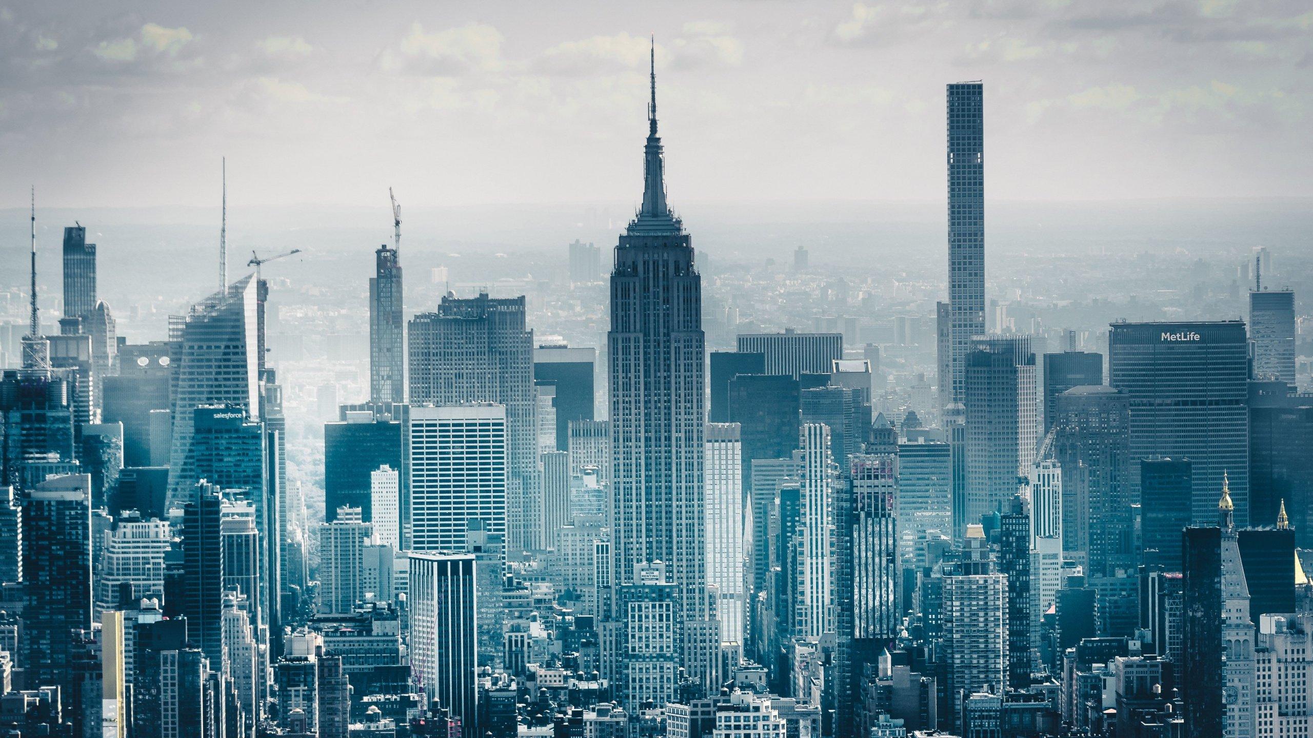 Cityscape Of New York City Hd Wallpaper