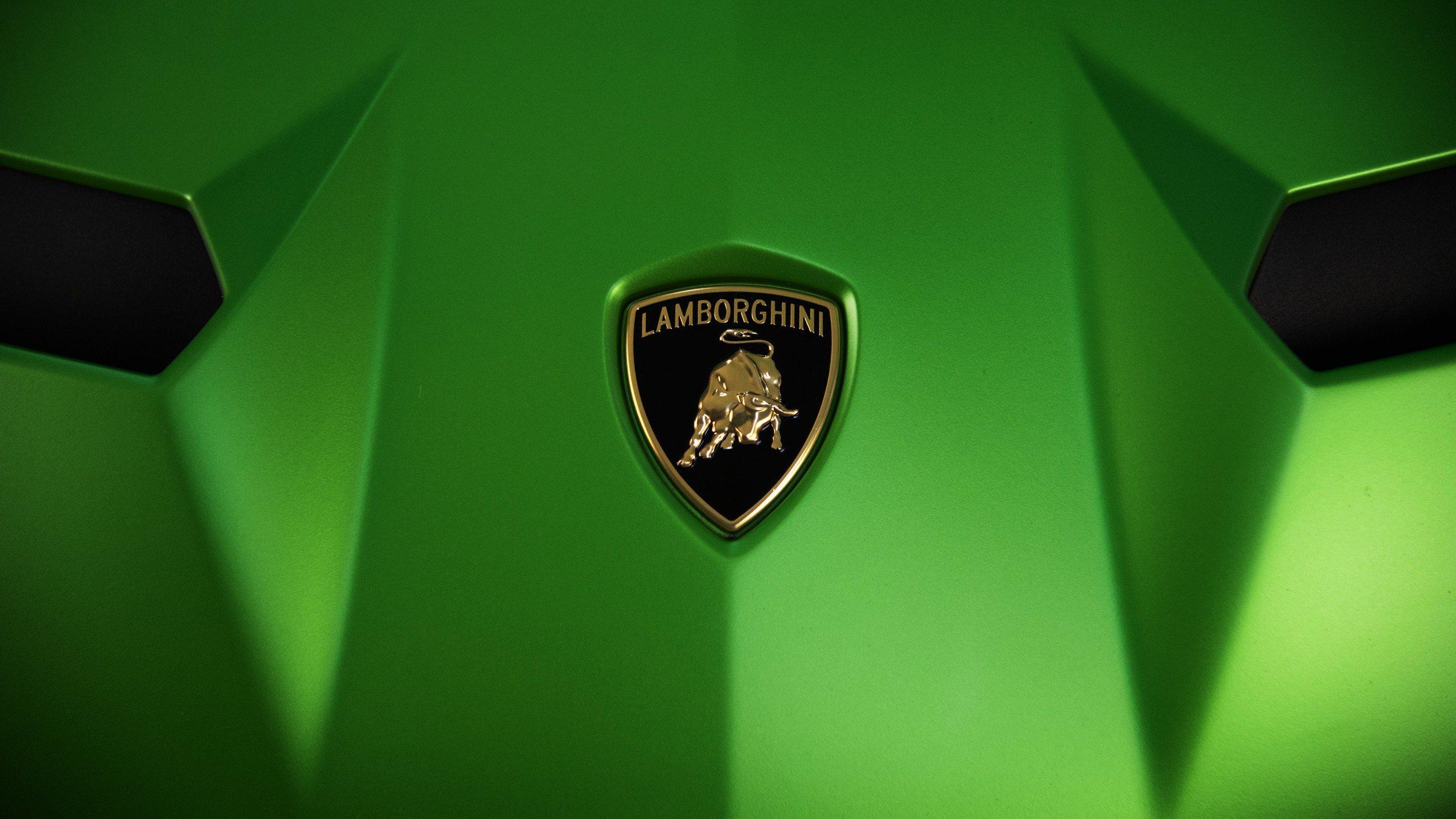 Lamborghini Logo HD wallpaper
