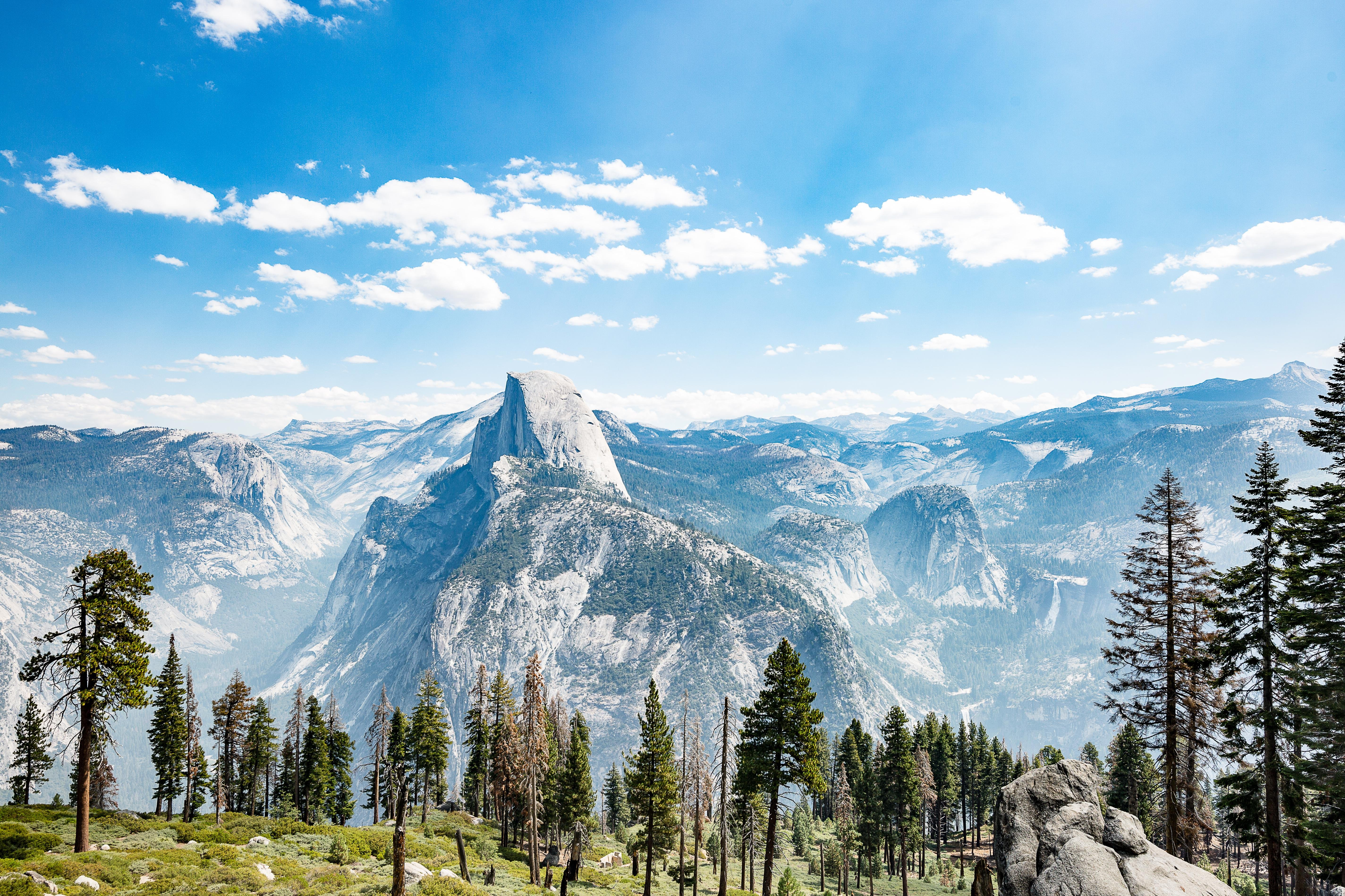 the best view of yosemite national park wallpaper