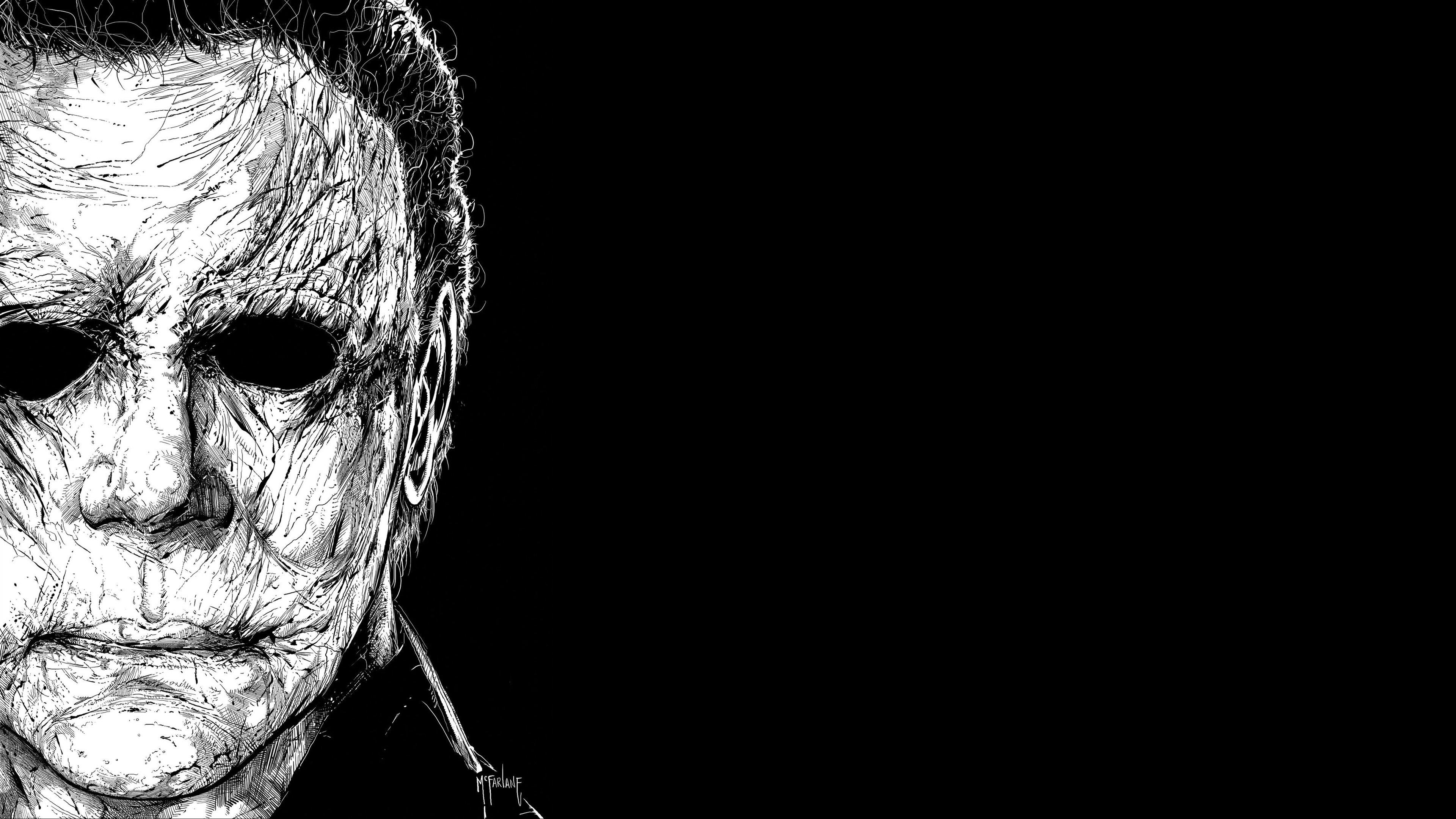 Halloween Michael Myers 4K wallpaper