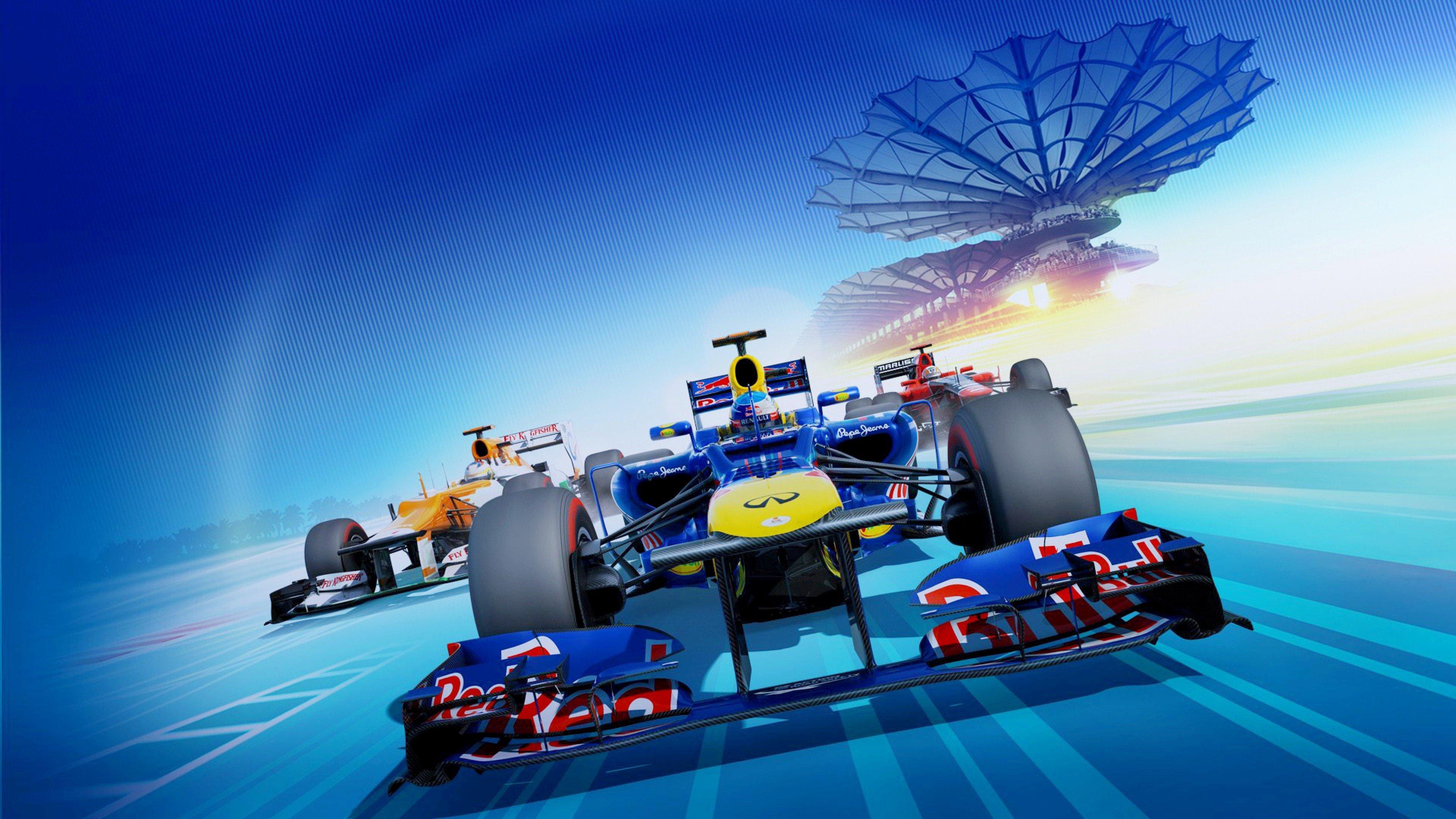 Red Bull Racing 4K wallpaper