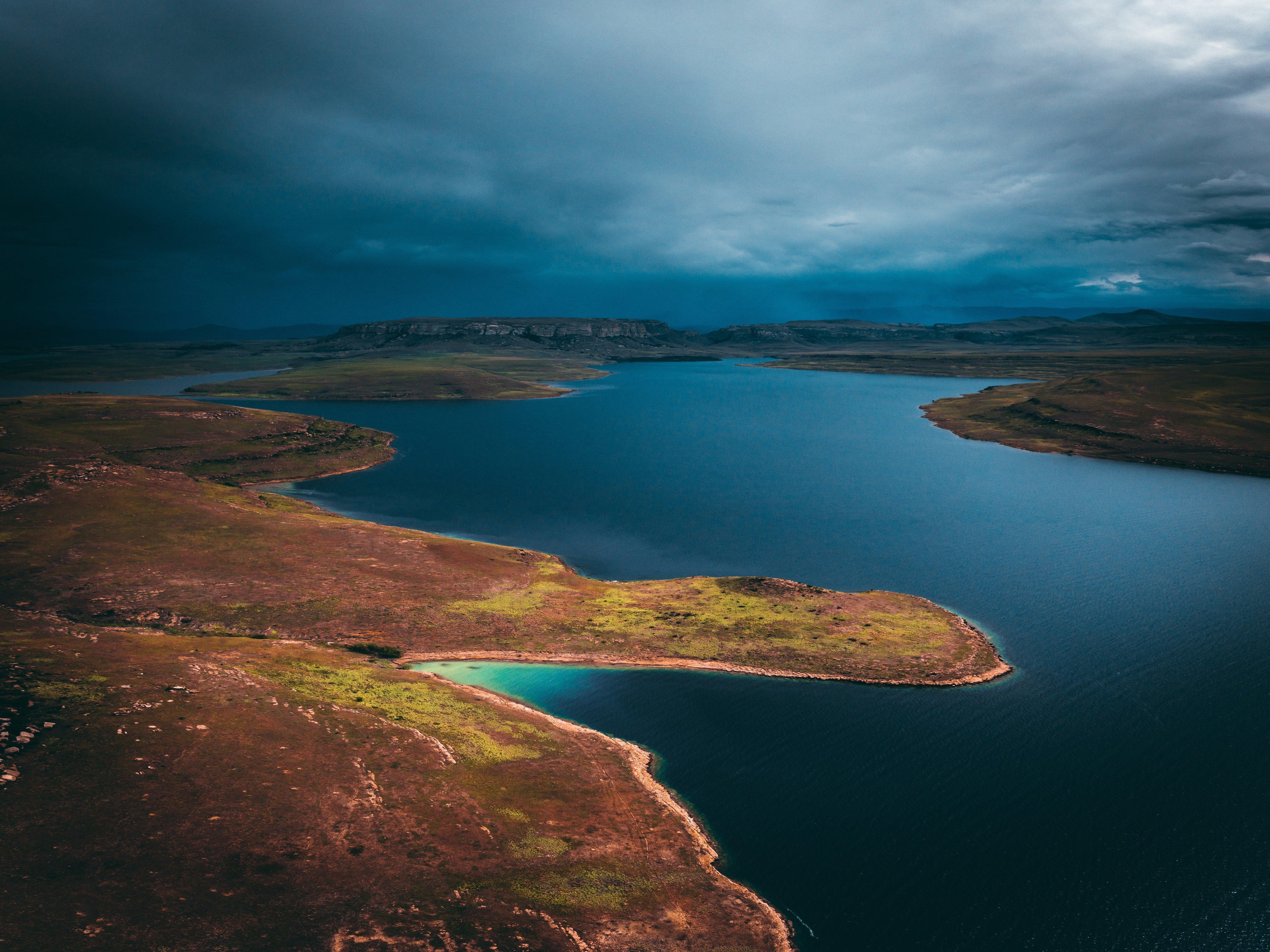 Beautiful Lake Thabo Mofutsanyana South Africa 4k Wallpaper