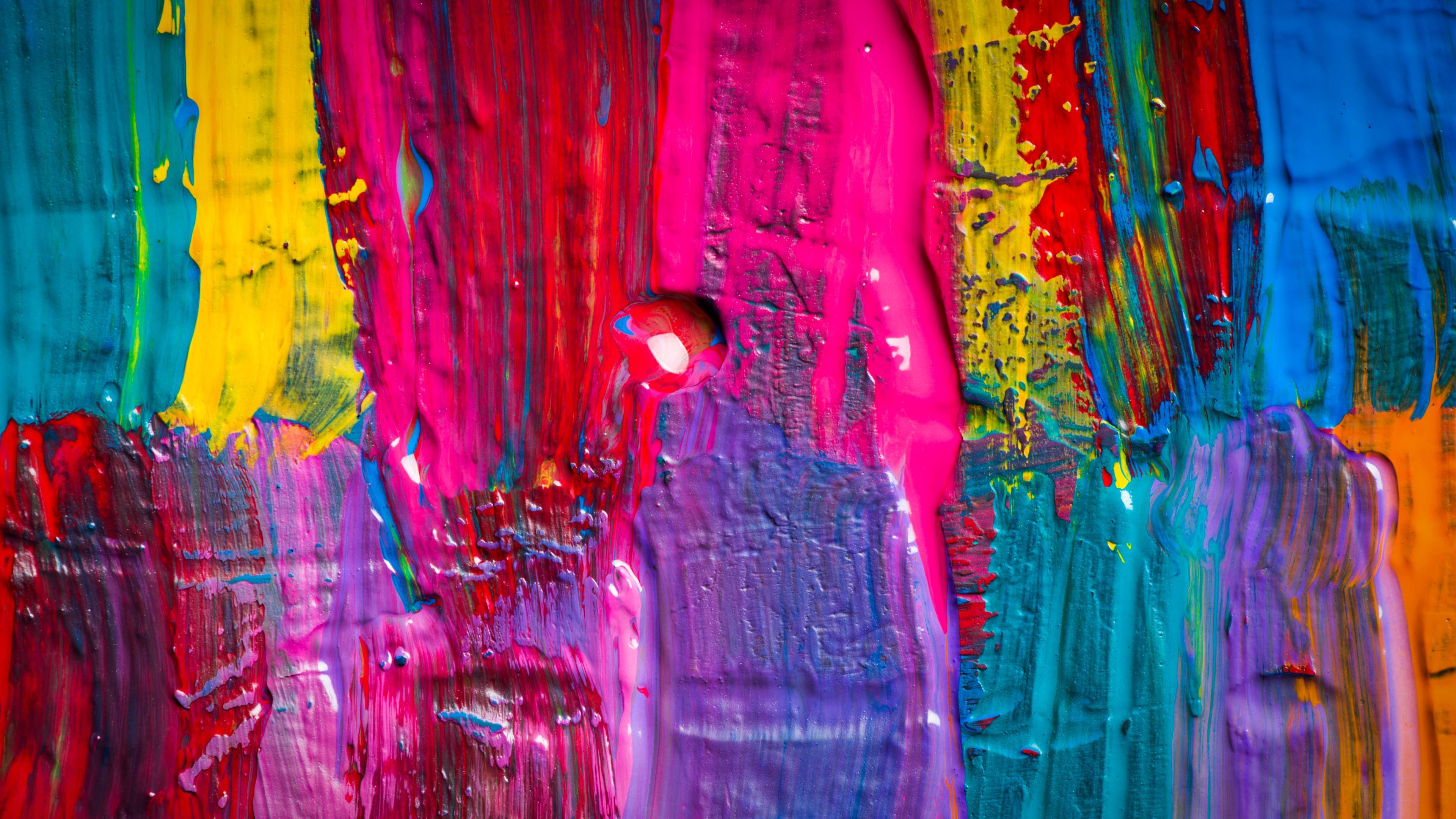 Color Splash 4k Wallpaper