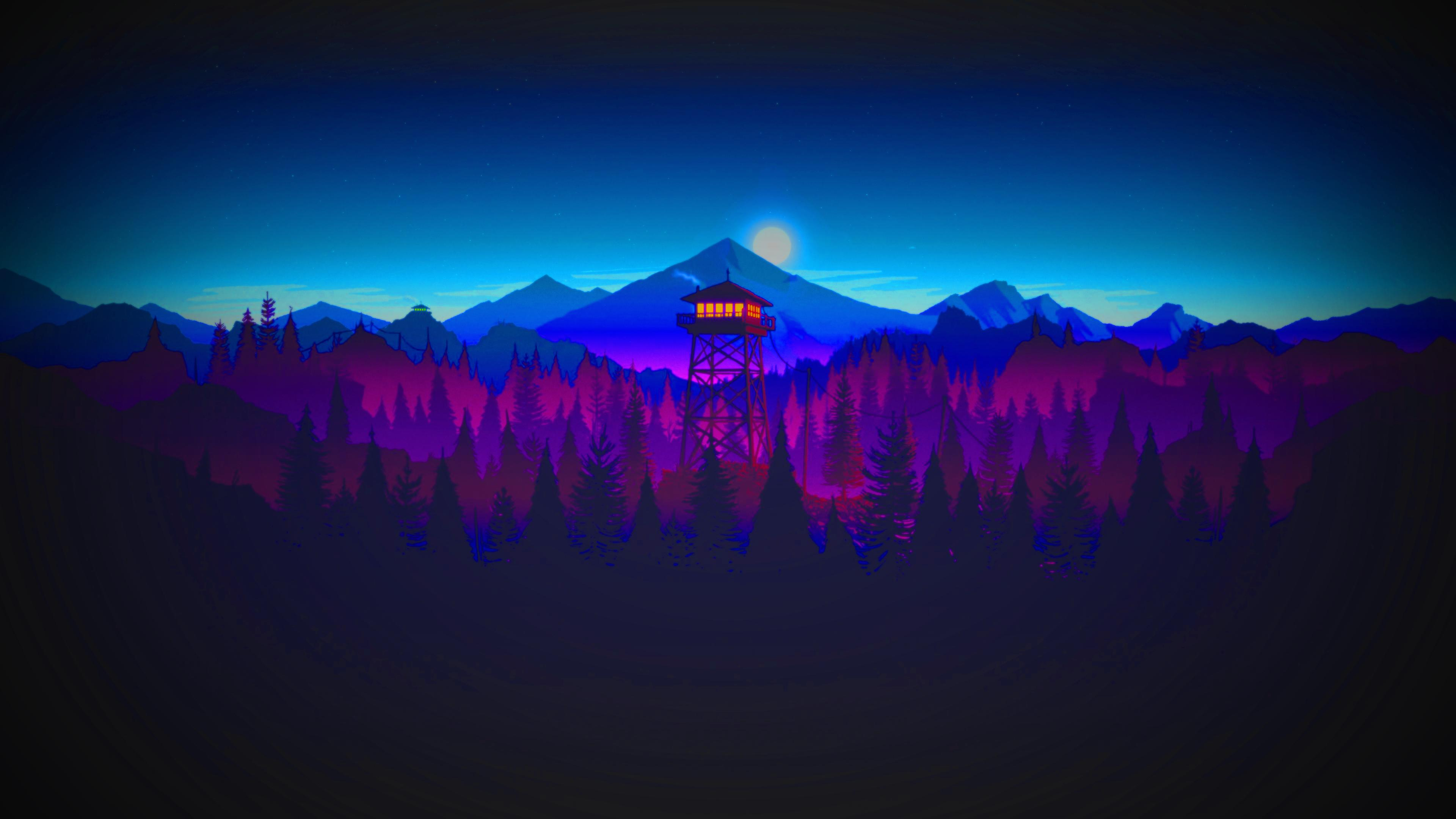 Firewatch 4k wallpapers for your desktop or mobile screen - Desktop wallpaper 4k ...