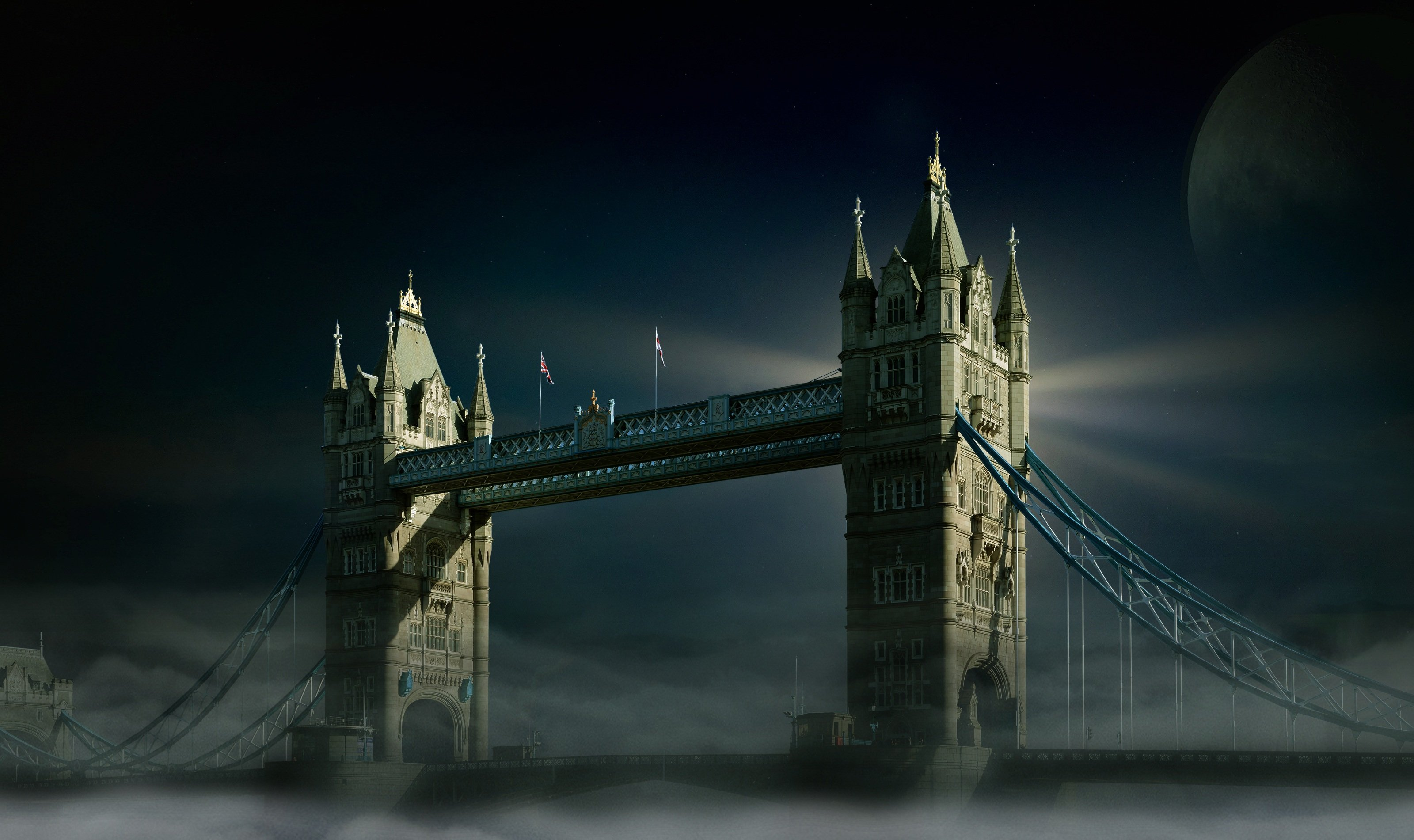 Night At London HD wallpaper