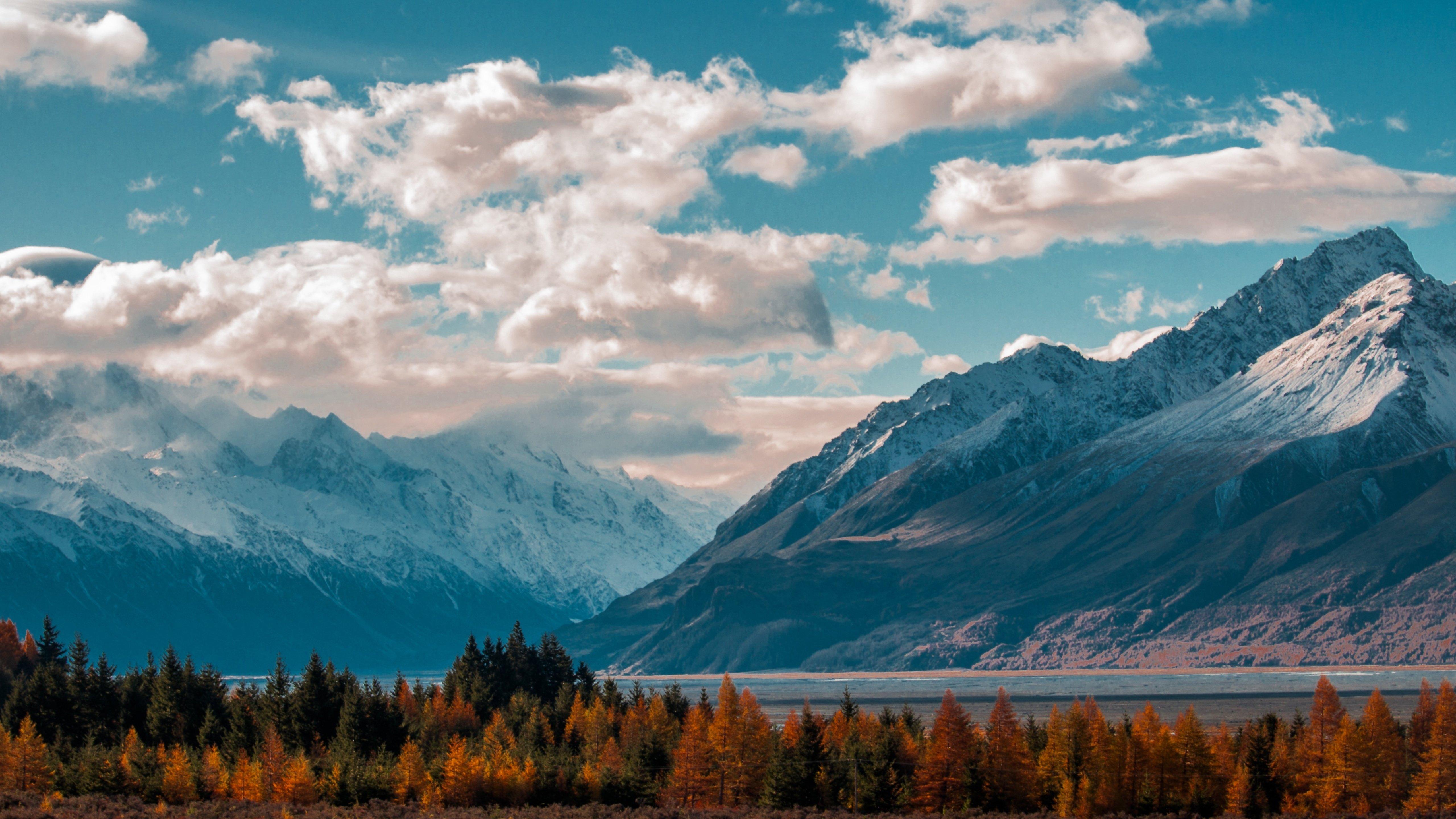 Mountains Landscape 4K wallpaper
