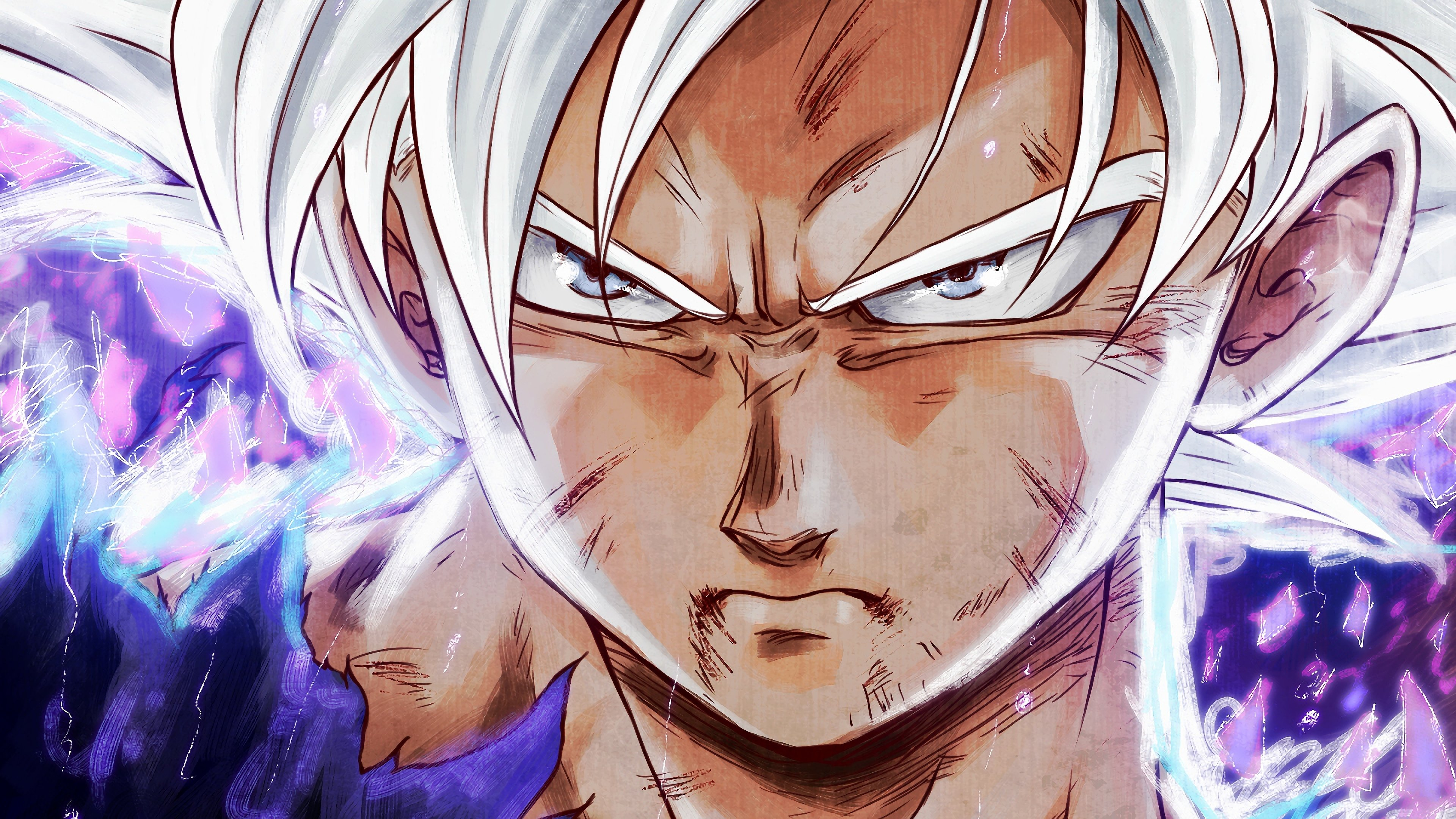 Goku 4k wallpapers for your desktop or mobile screen free - Goku ultra instinct mastered wallpaper ...