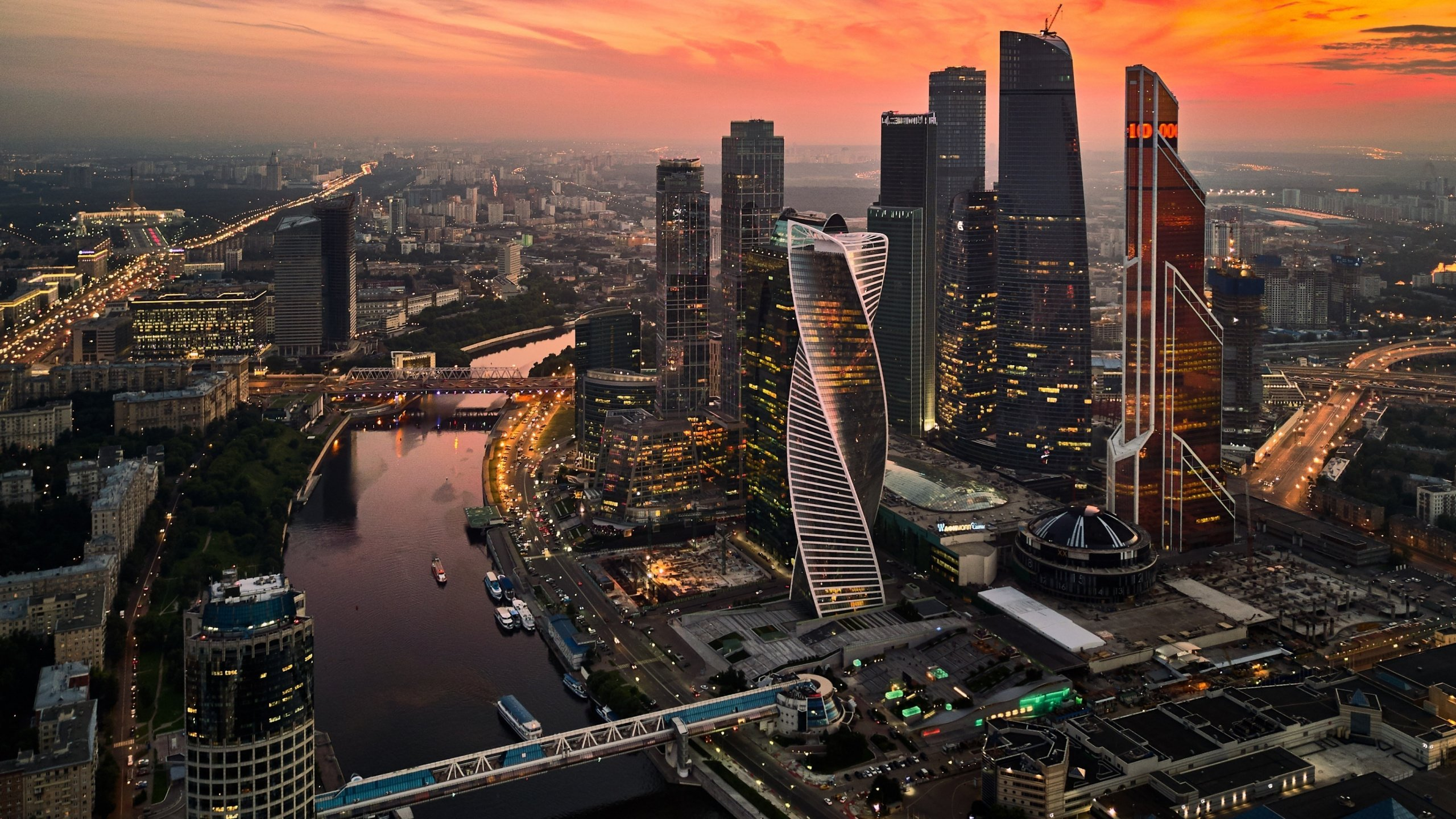 Moscow 4K wallpapers for your desktop or mobile screen ...