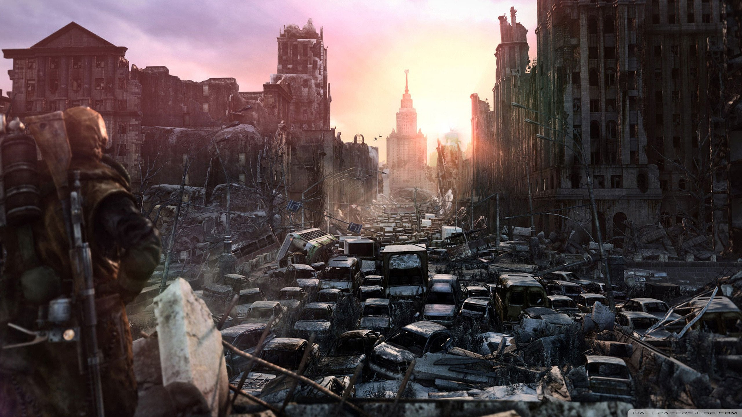 Post Apocalyptic World HD wallpaper