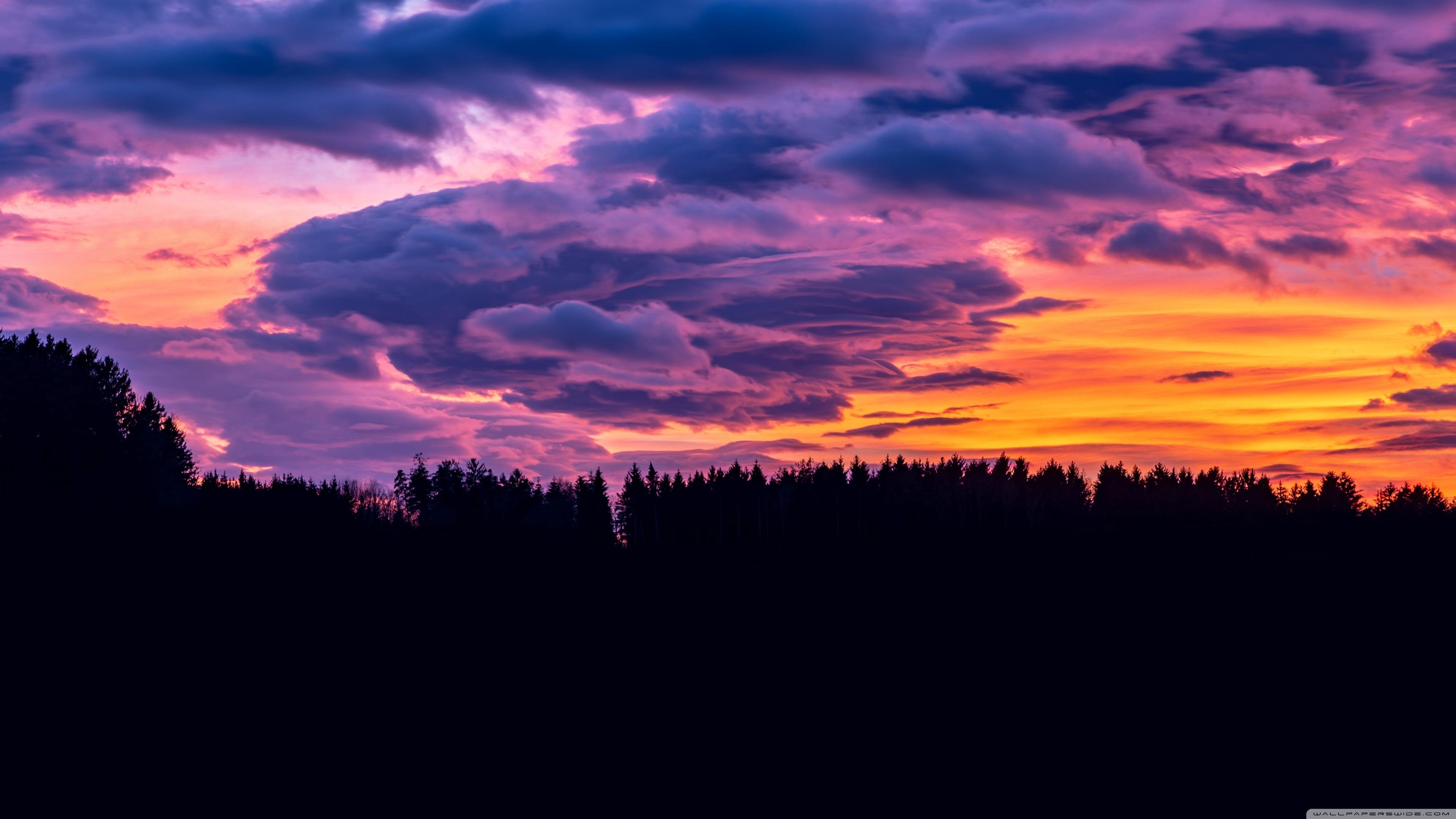 Beautiful Sky Clouds 4k Wallpaper