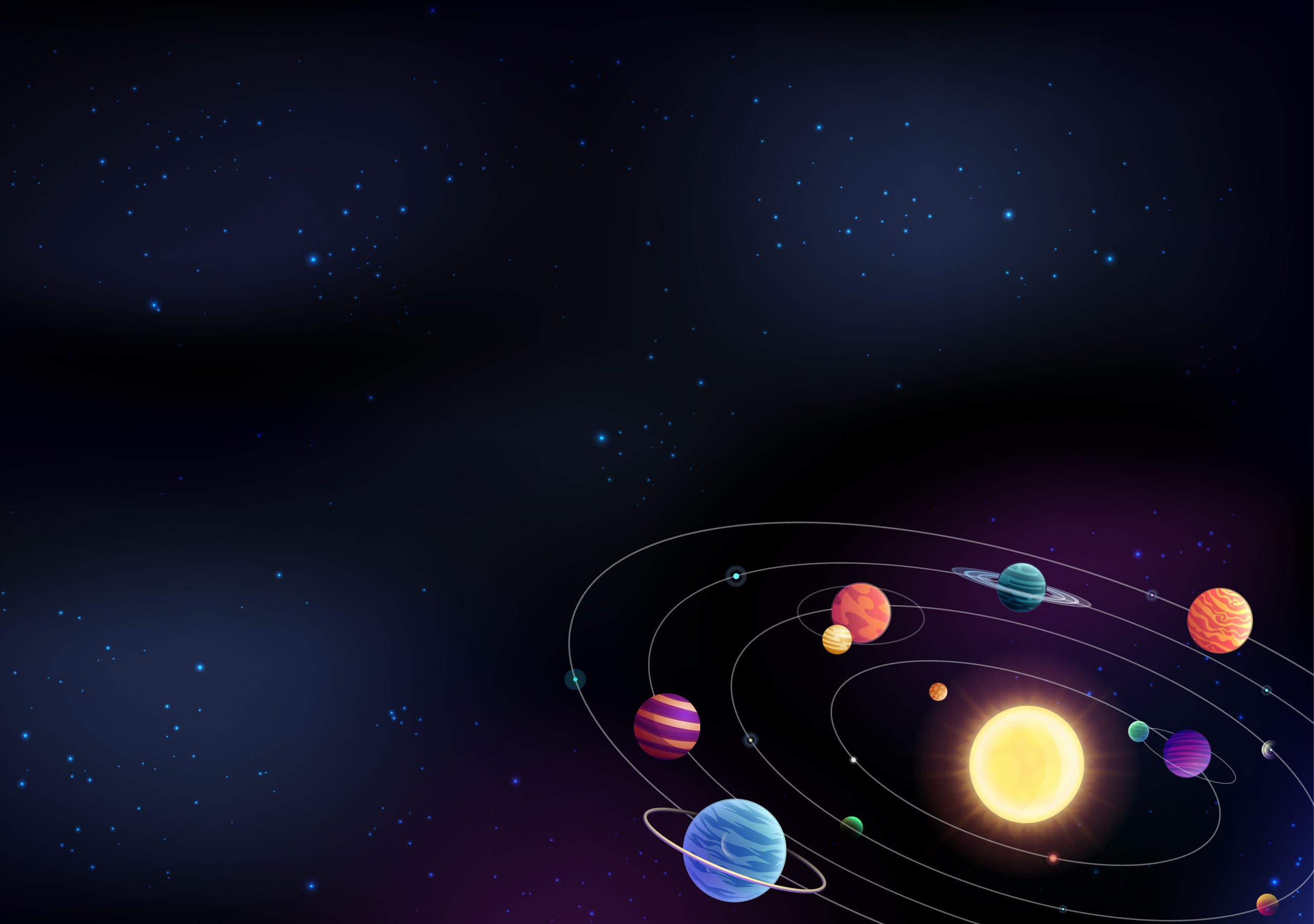 Space 4k wallpapers for your desktop or mobile screen free - Space solar system wallpaper ...