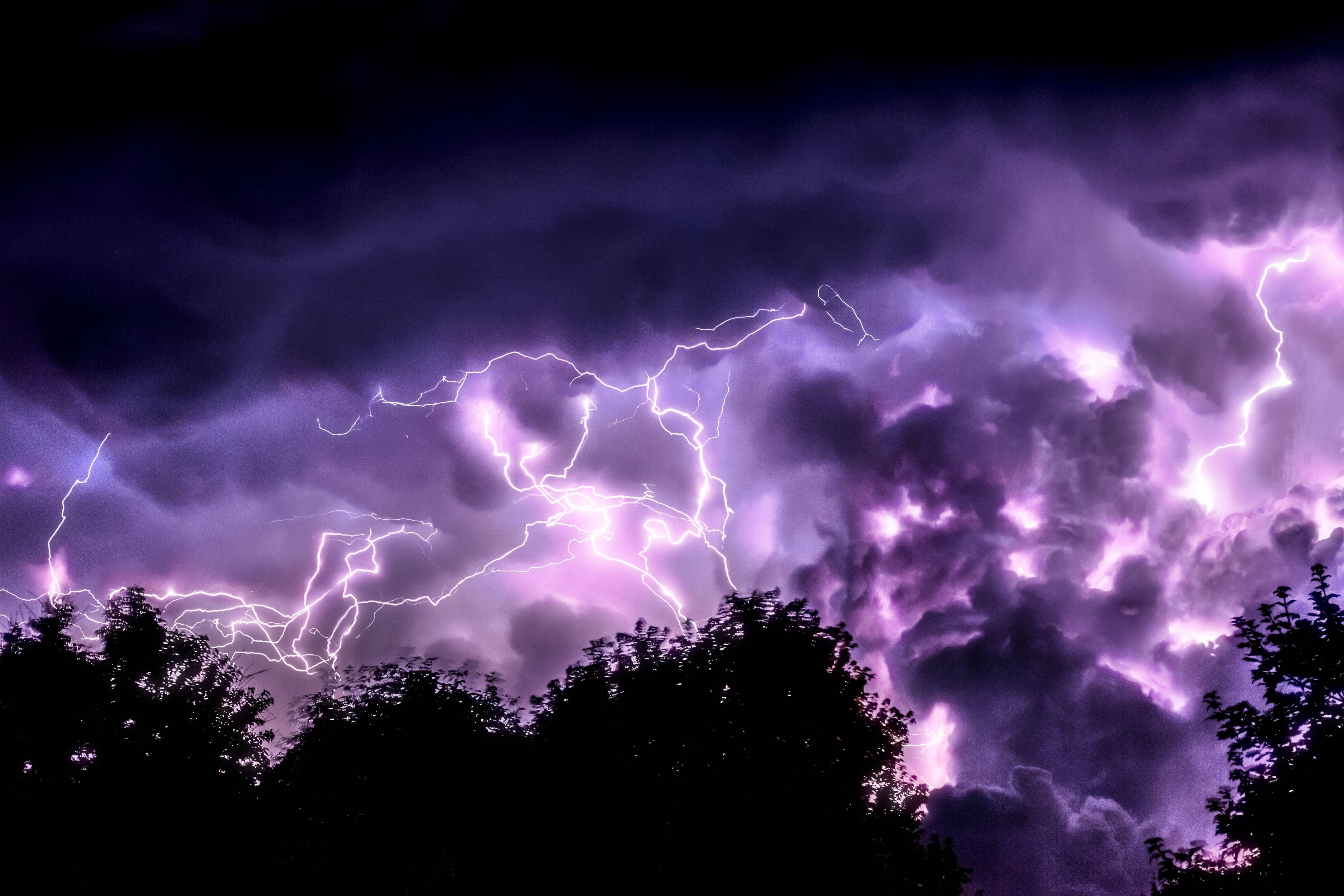 4k Wallpaper Lightning
