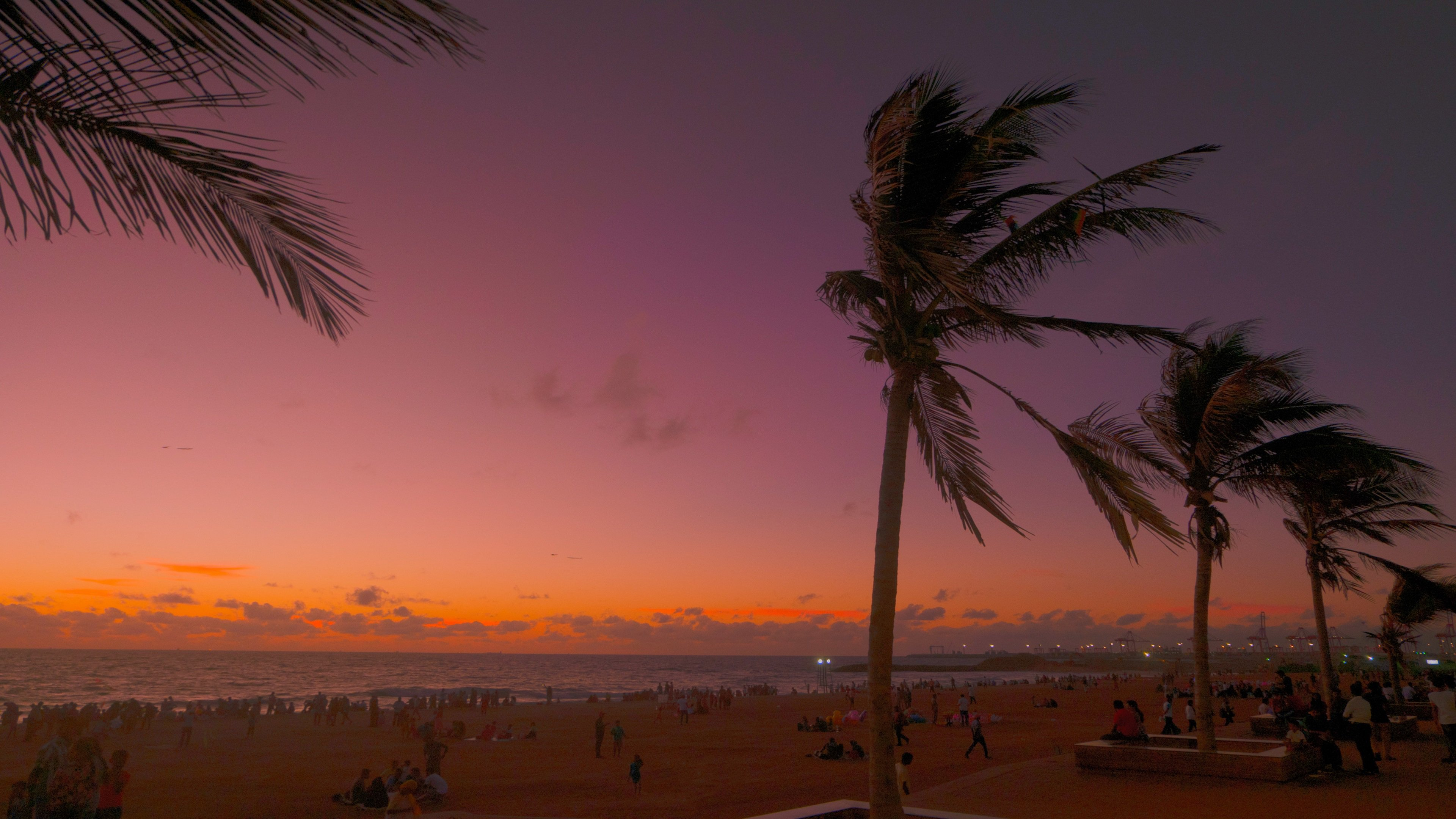 sunset 4K wallpapers for your desktop or mobile screen ...
