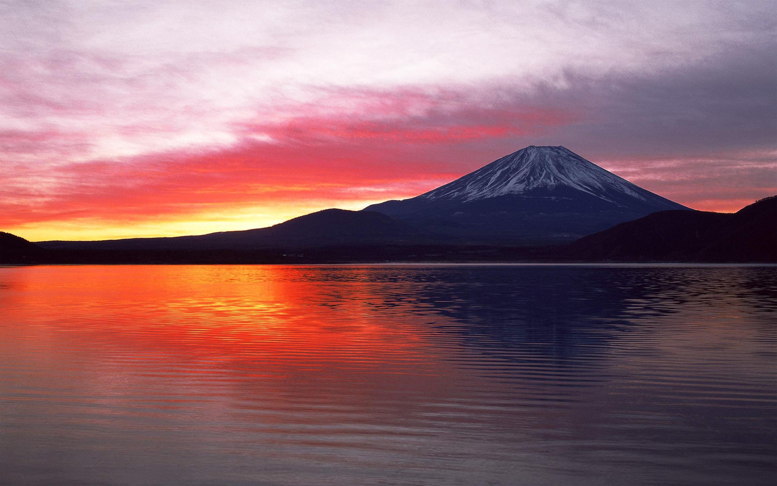 Mount Fuji Hd Wallpaper