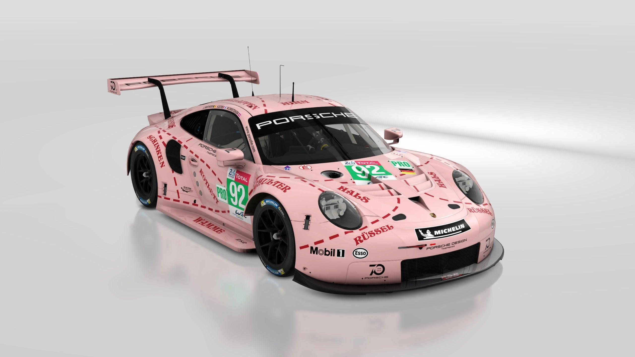 Porsche Pink Pig Hd Wallpaper