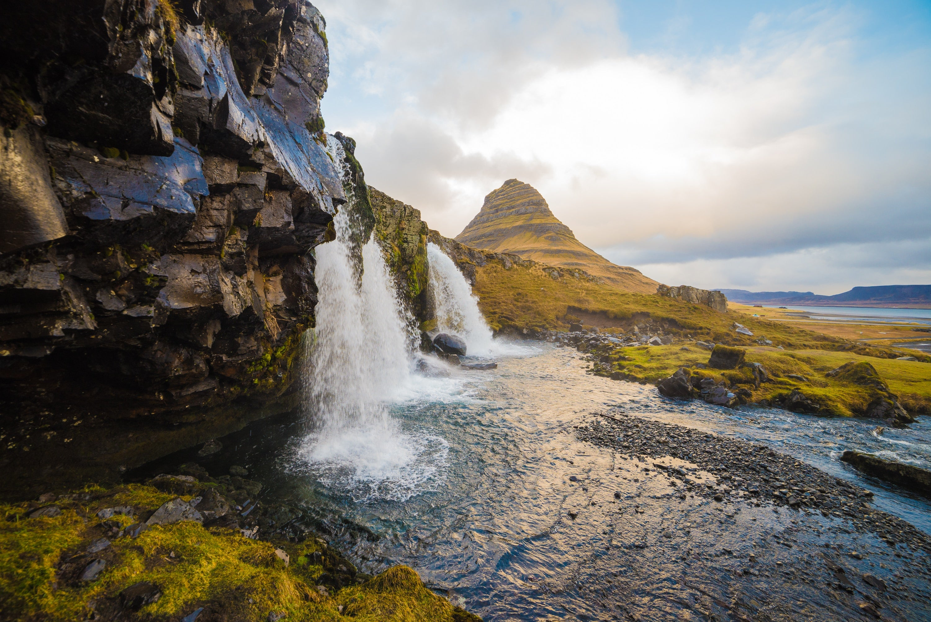Kirkjufellsfoss Iceland Hd Wallpaper