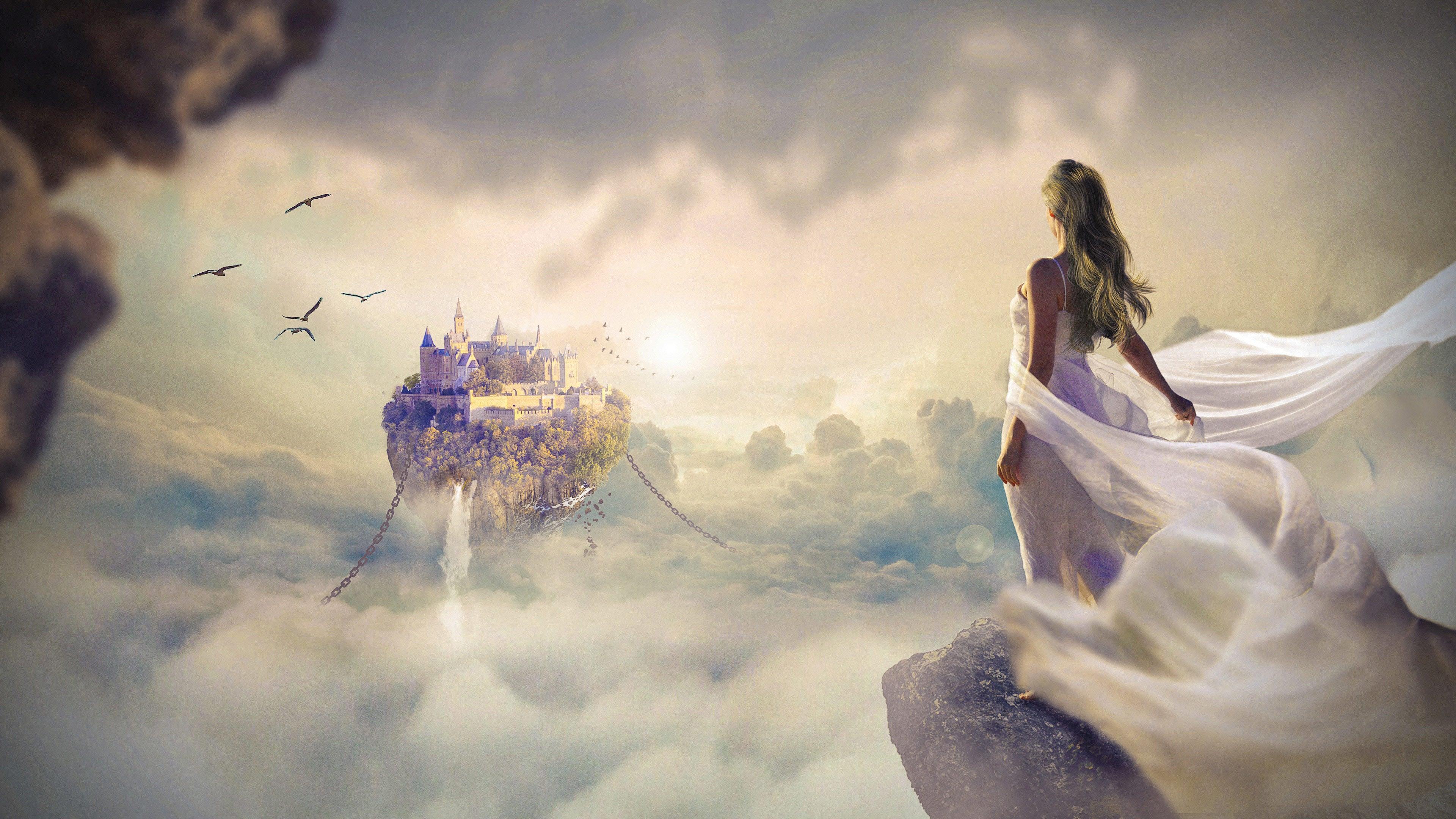 Fantasy World 4k Wallpaper