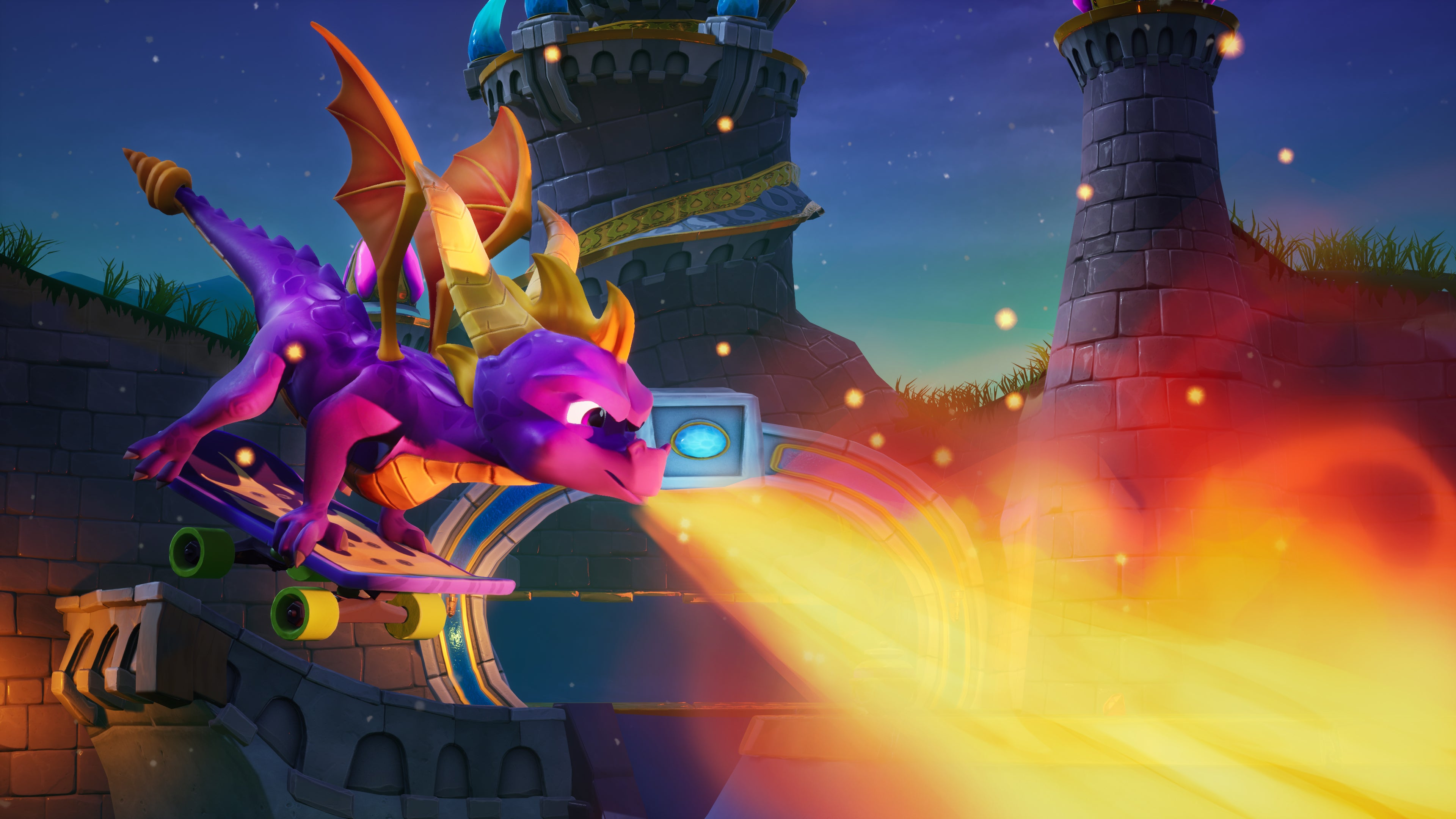 Spyro Reignited 4k Wallpaper