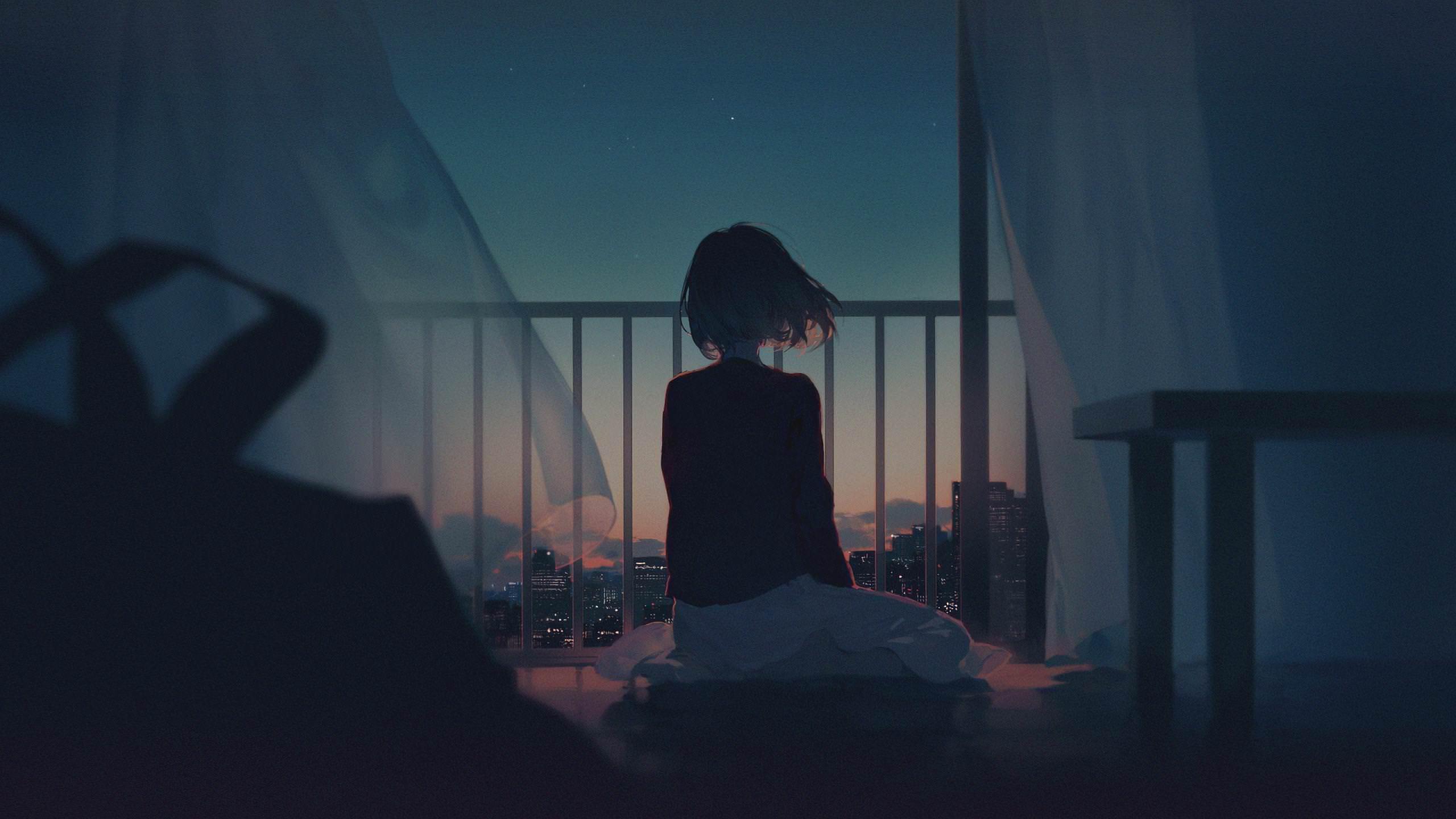 Alone Girl HD wallpaper