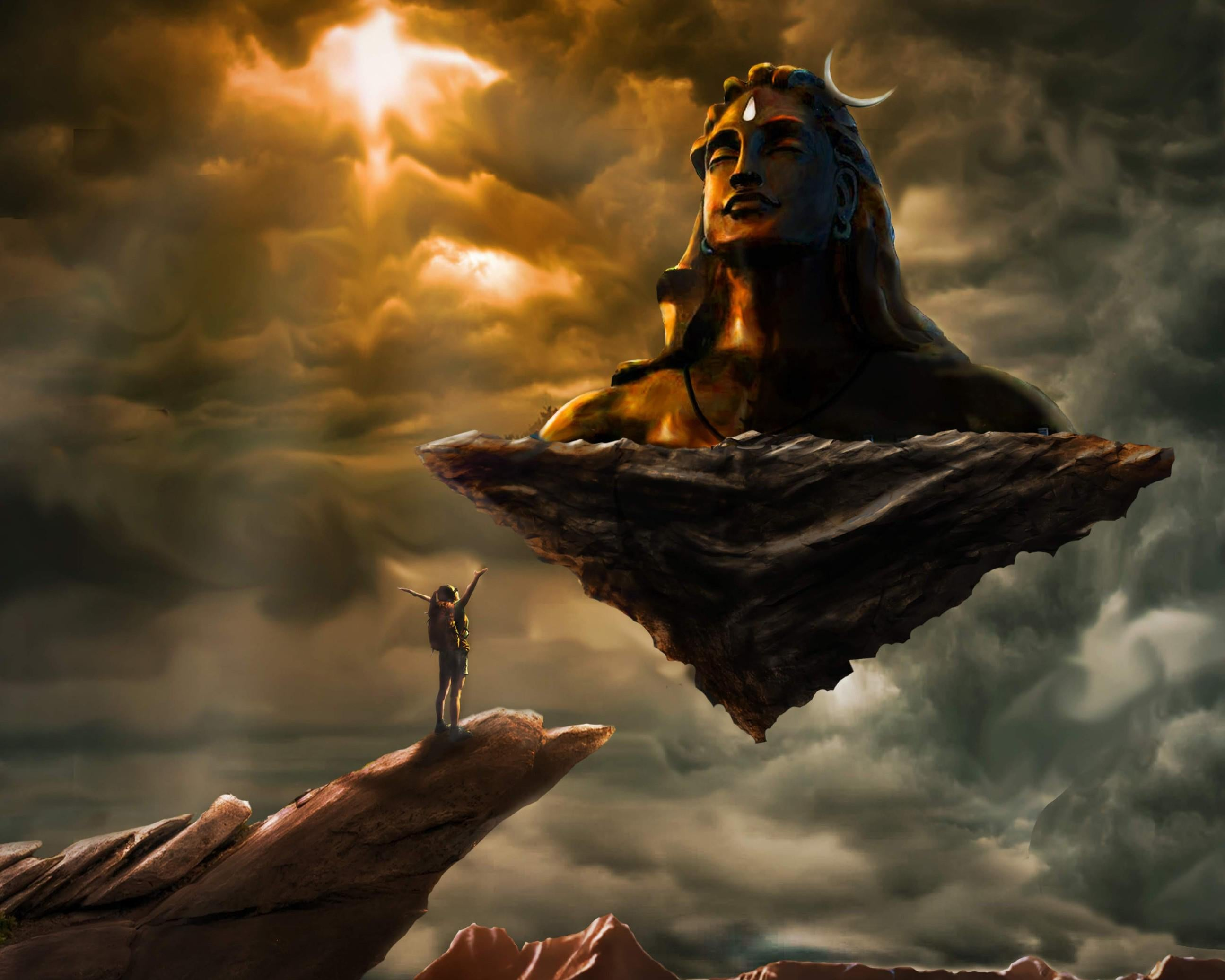 Shiva 4K wallpapers for your desktop or mobile screen free ...