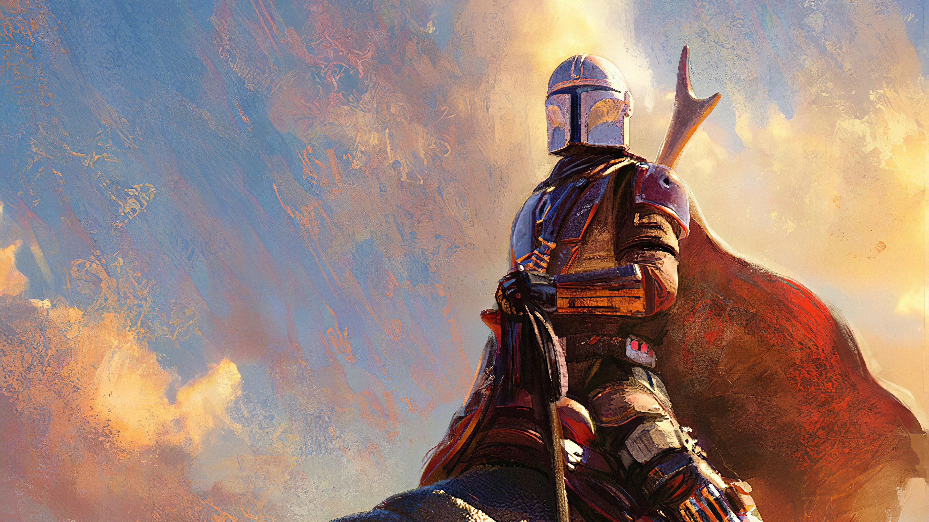 The Mandalorian 4k Wallpaper
