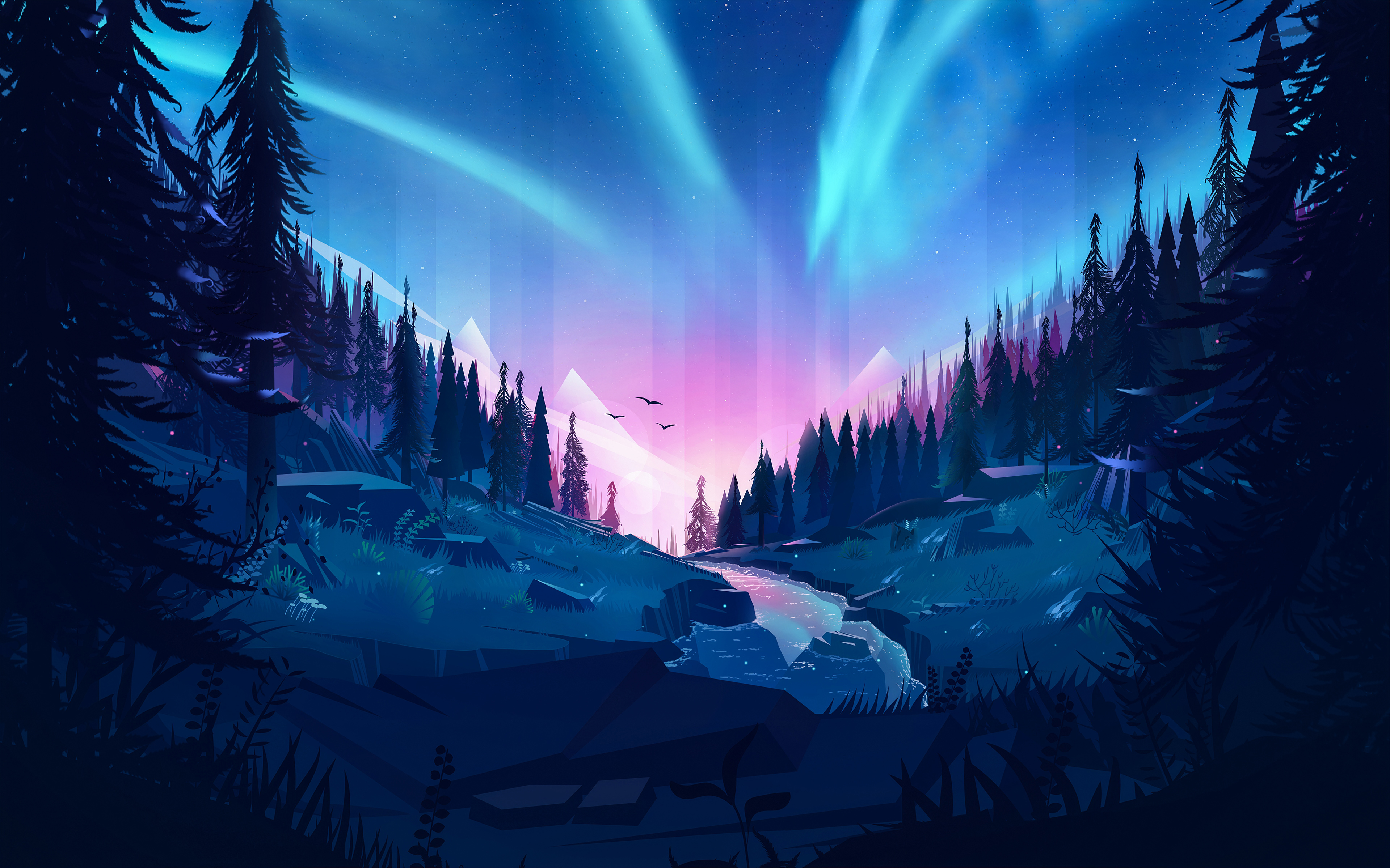Auroral 4K wallpapers for your desktop or mobile screen ...