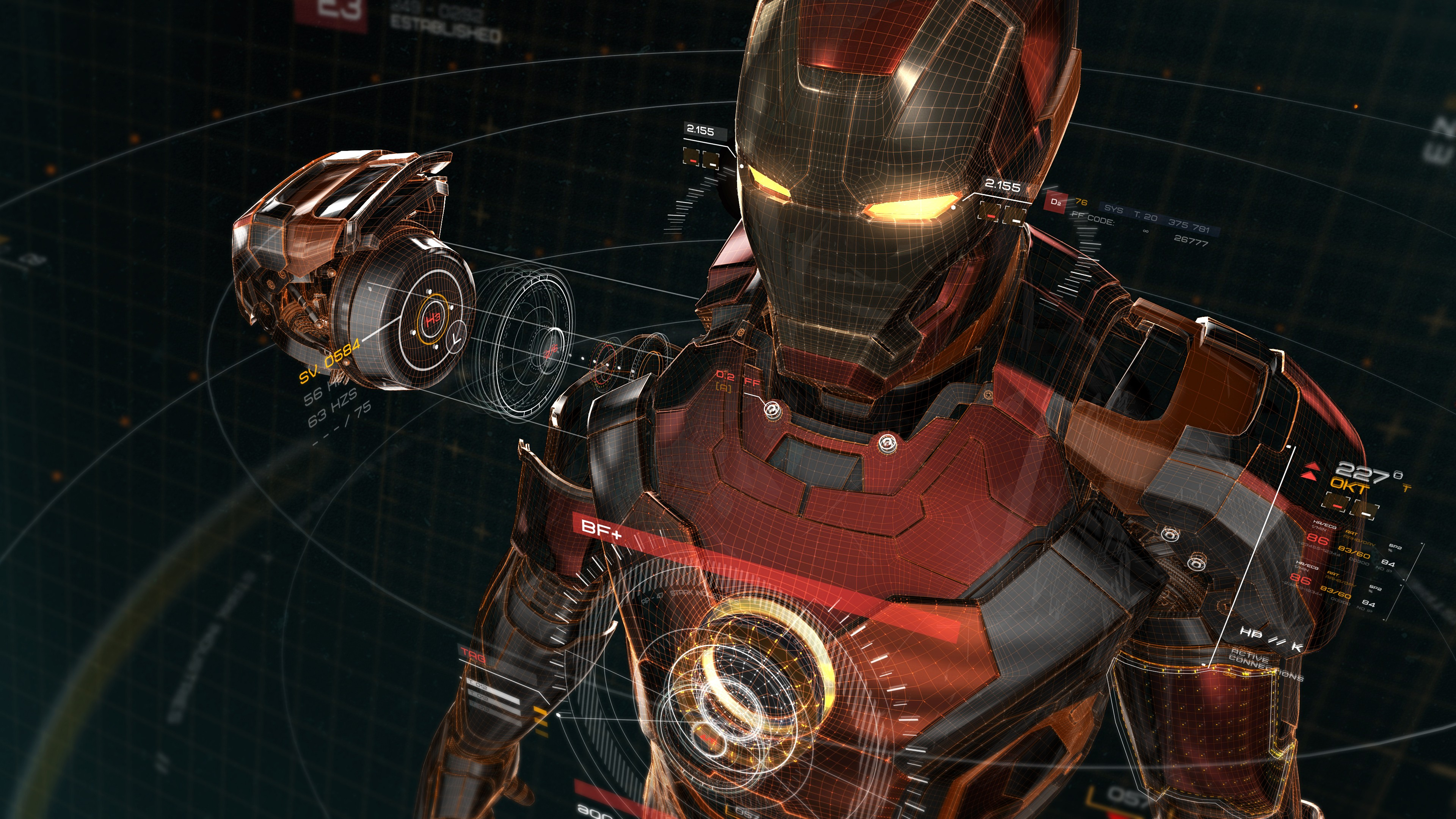 High Resolution Ultra Hd 4k Iron Man Wallpaper