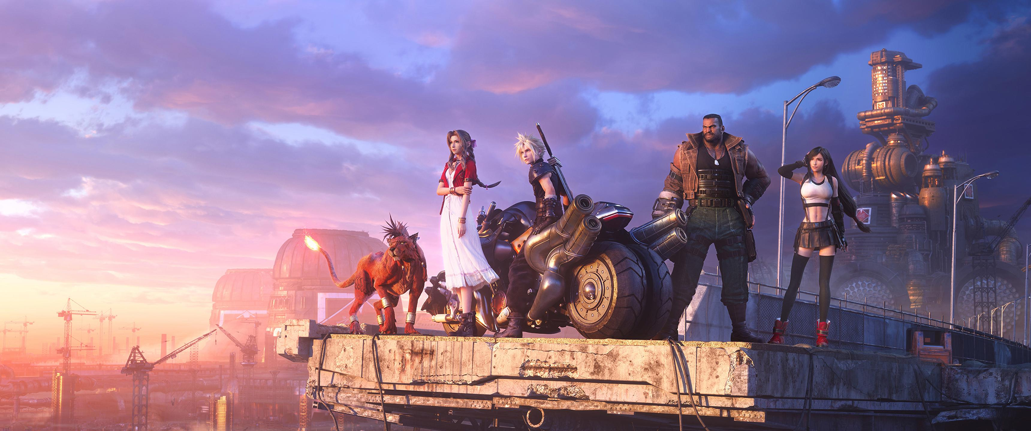 Final Fantasy Vii Remake Hd Wallpaper
