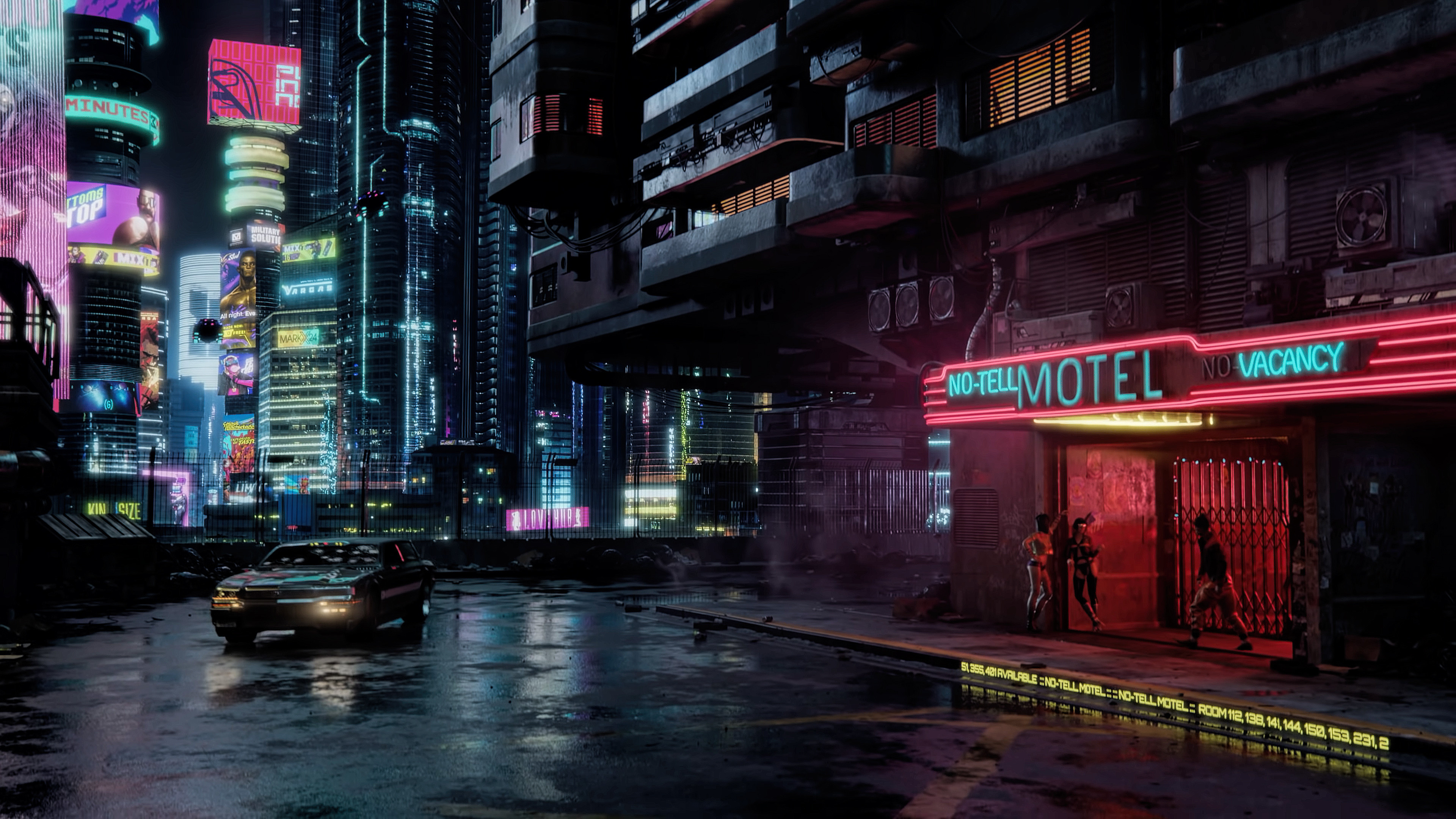 Cyberpunk 4K wallpapers for your desktop or mobile screen ...