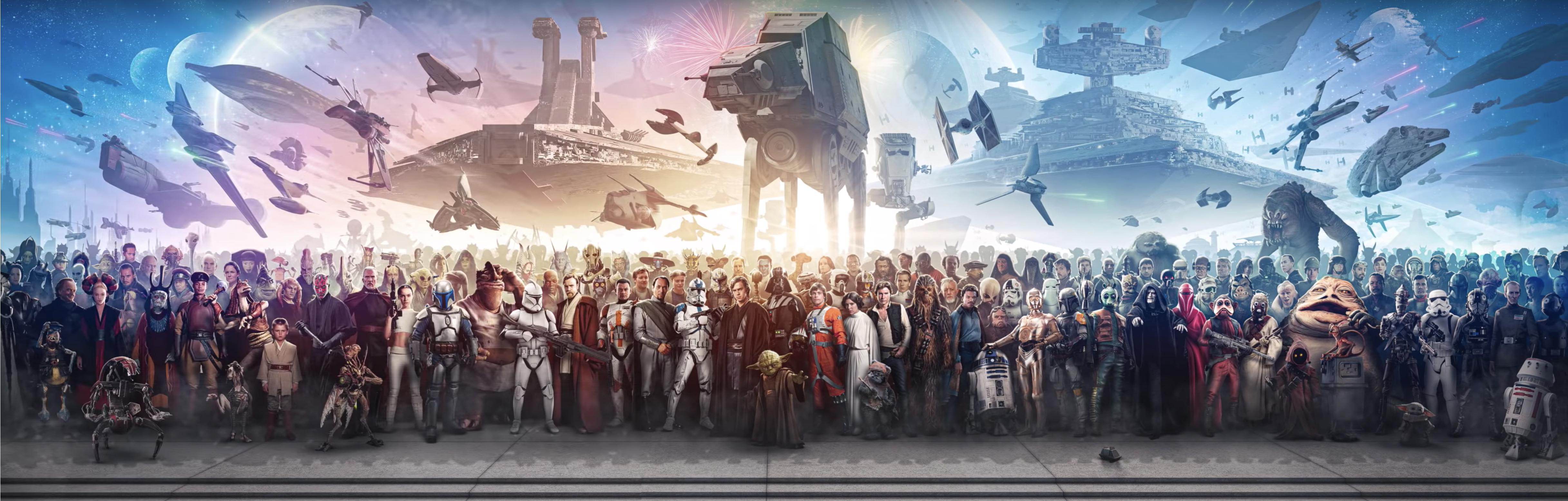 epic star wars wallpaper