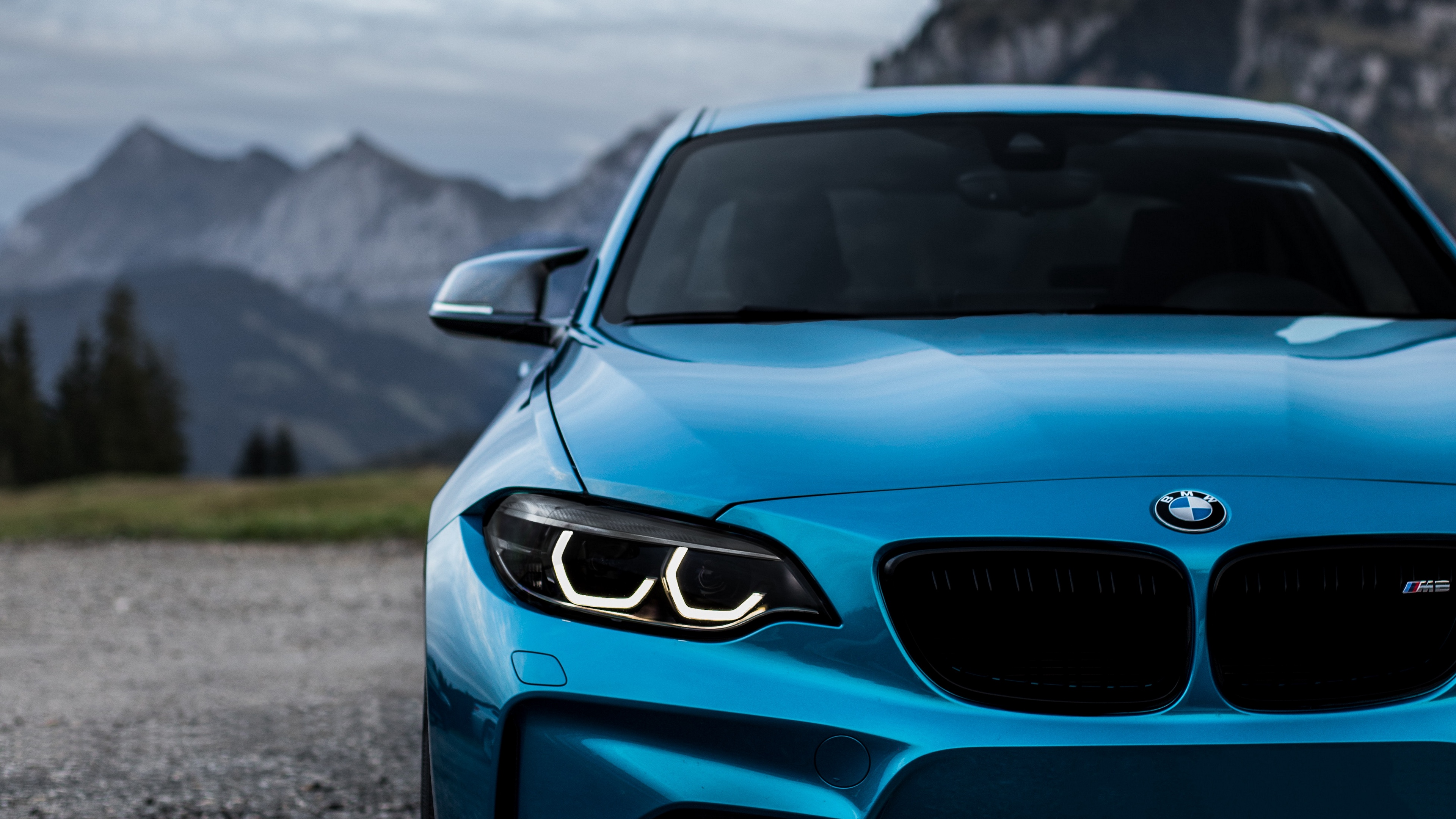 Bmw M 4k Wallpaper