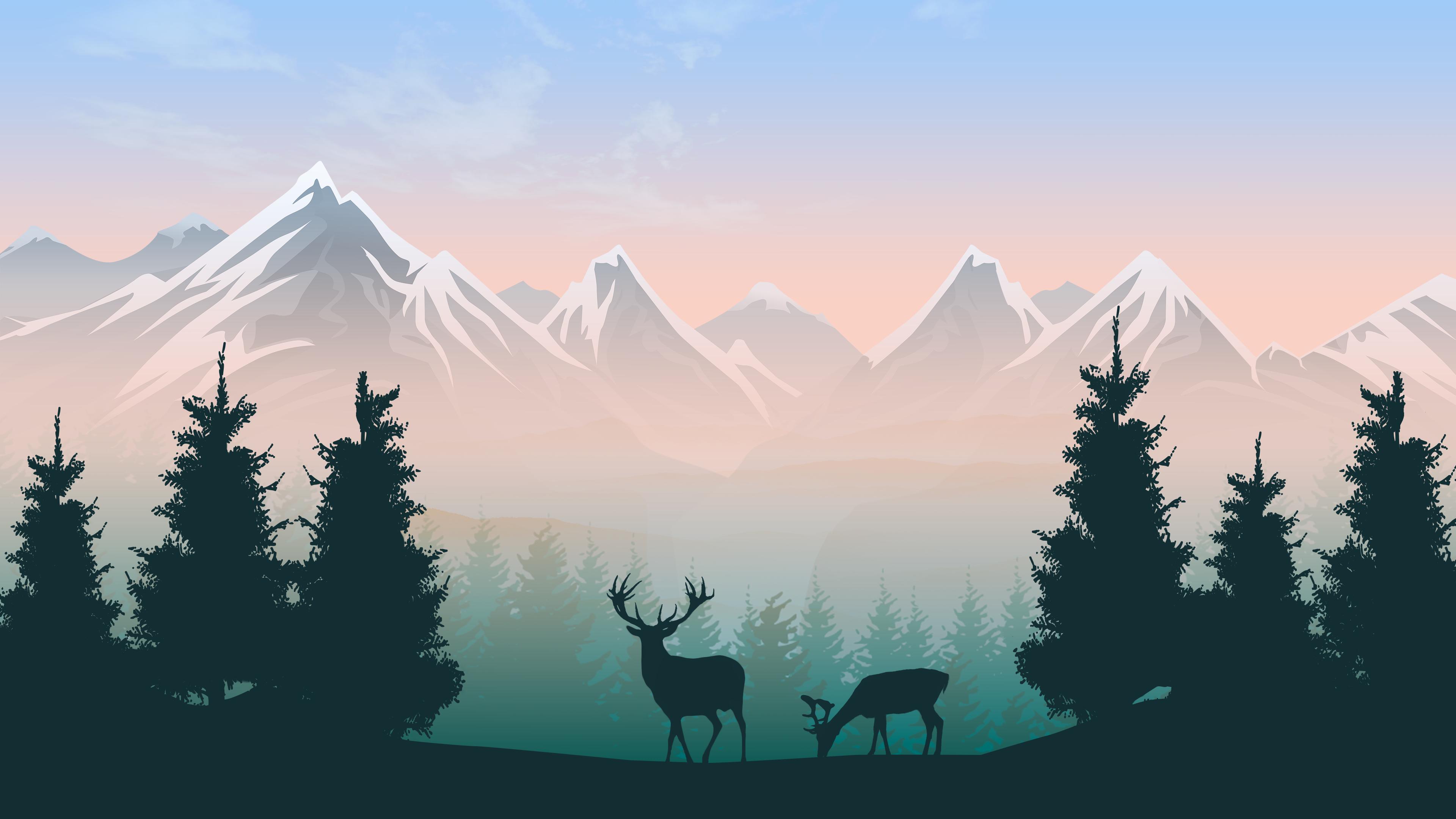 Scenic 12K wallpaper