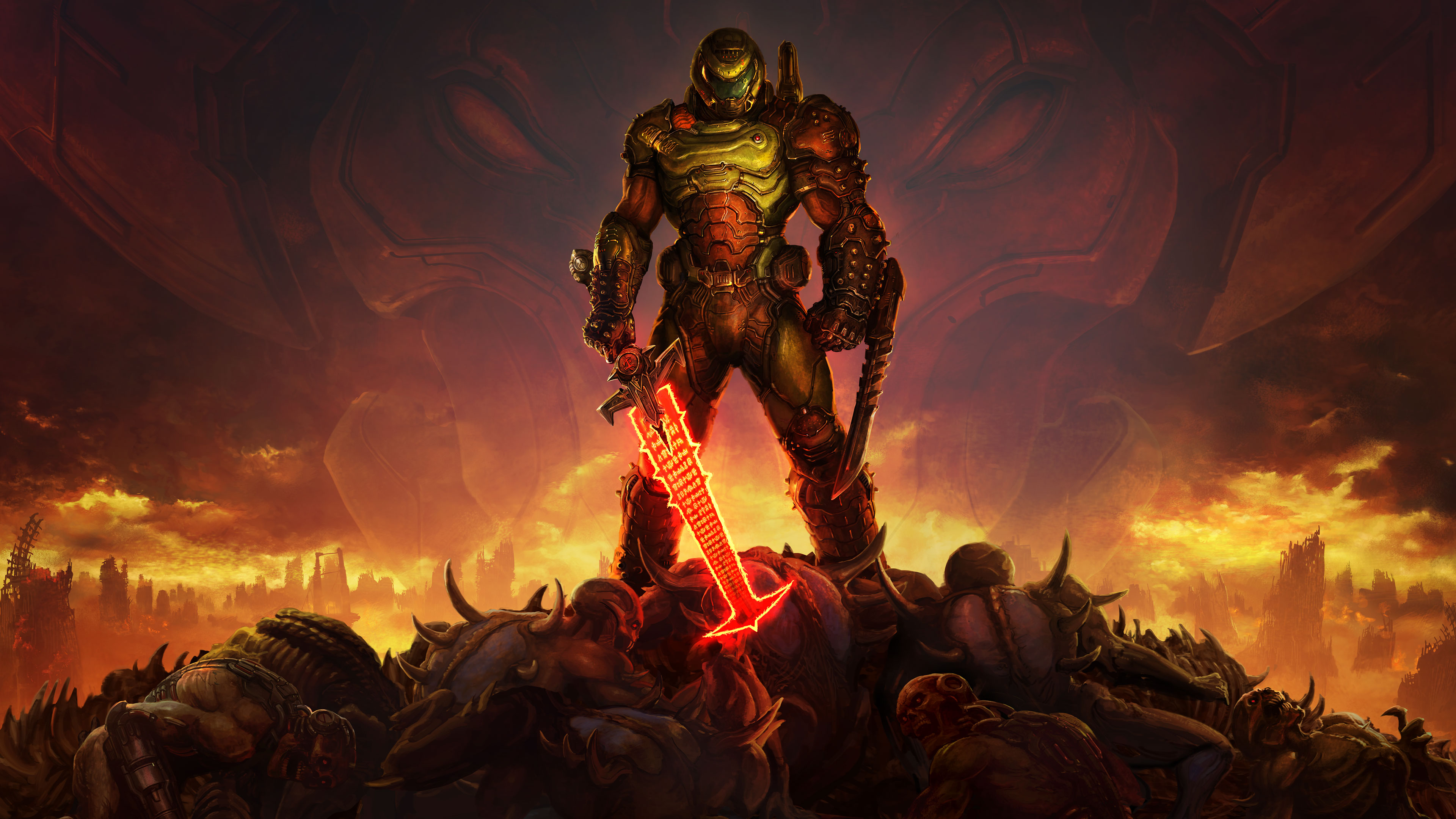 Doom 4k Wallpapers For Your Desktop Or Mobile Screen Free And Easy To Download