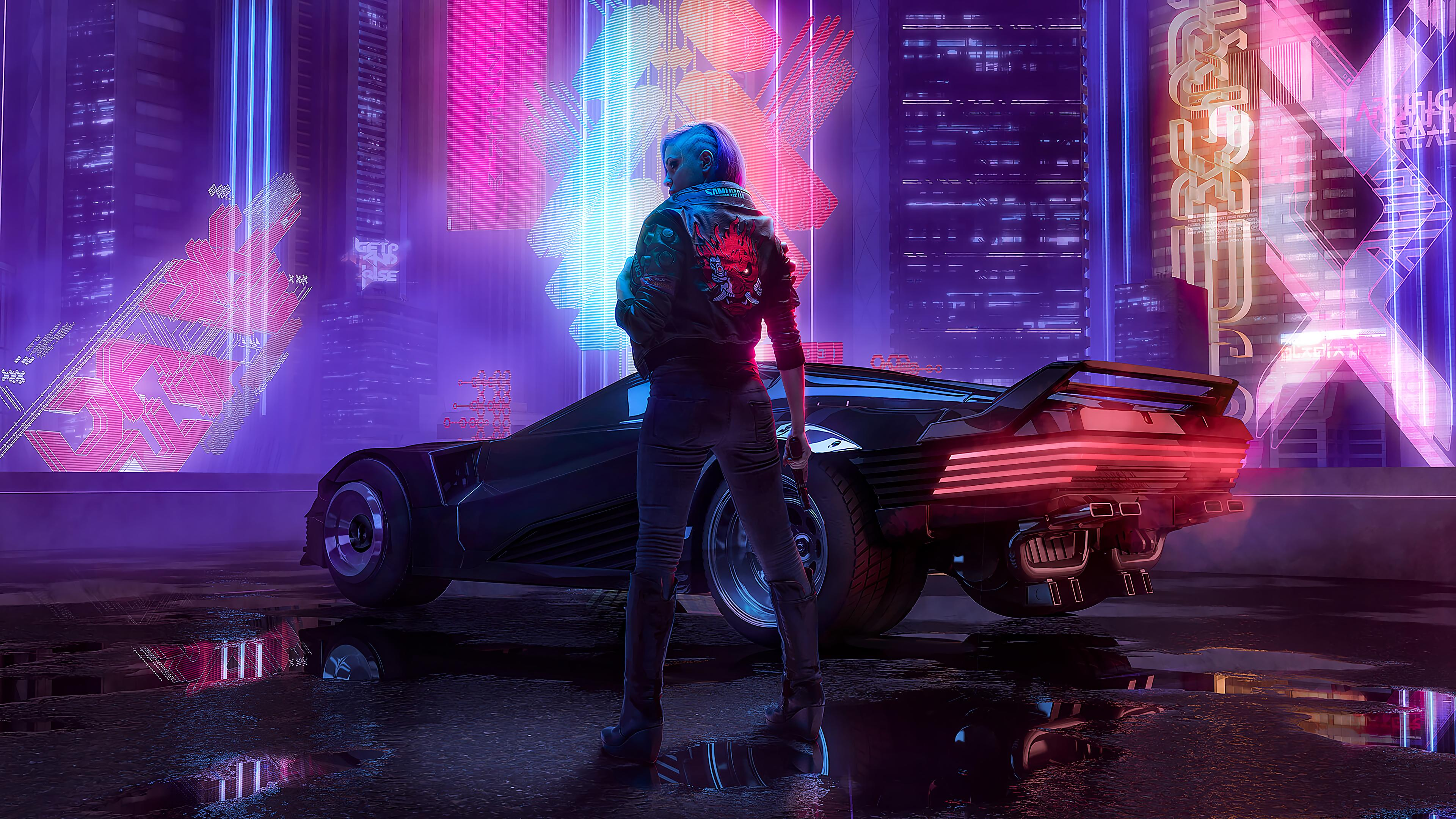 Cyberpunk 4k Wallpapers For Your Desktop Or Mobile Screen Free And Easy To Download