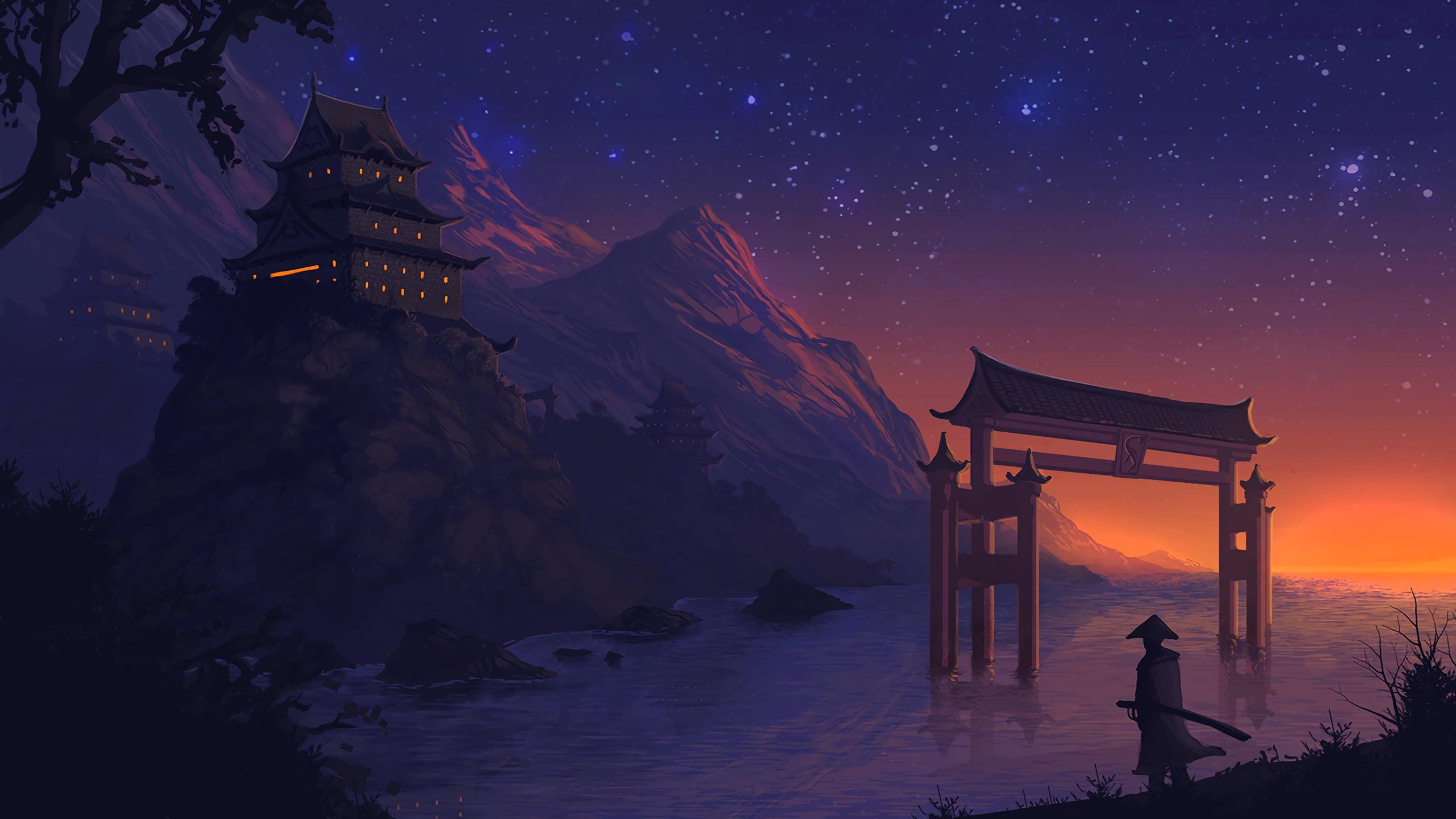 Get Anime Aesthetic Wallpaper Wide Gif