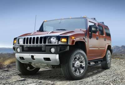 Hummer H Sedona Metallic Black Chrome wallpaper