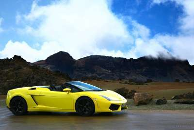 Lamborghini Gallardo LP Spyder 4 wallpaper